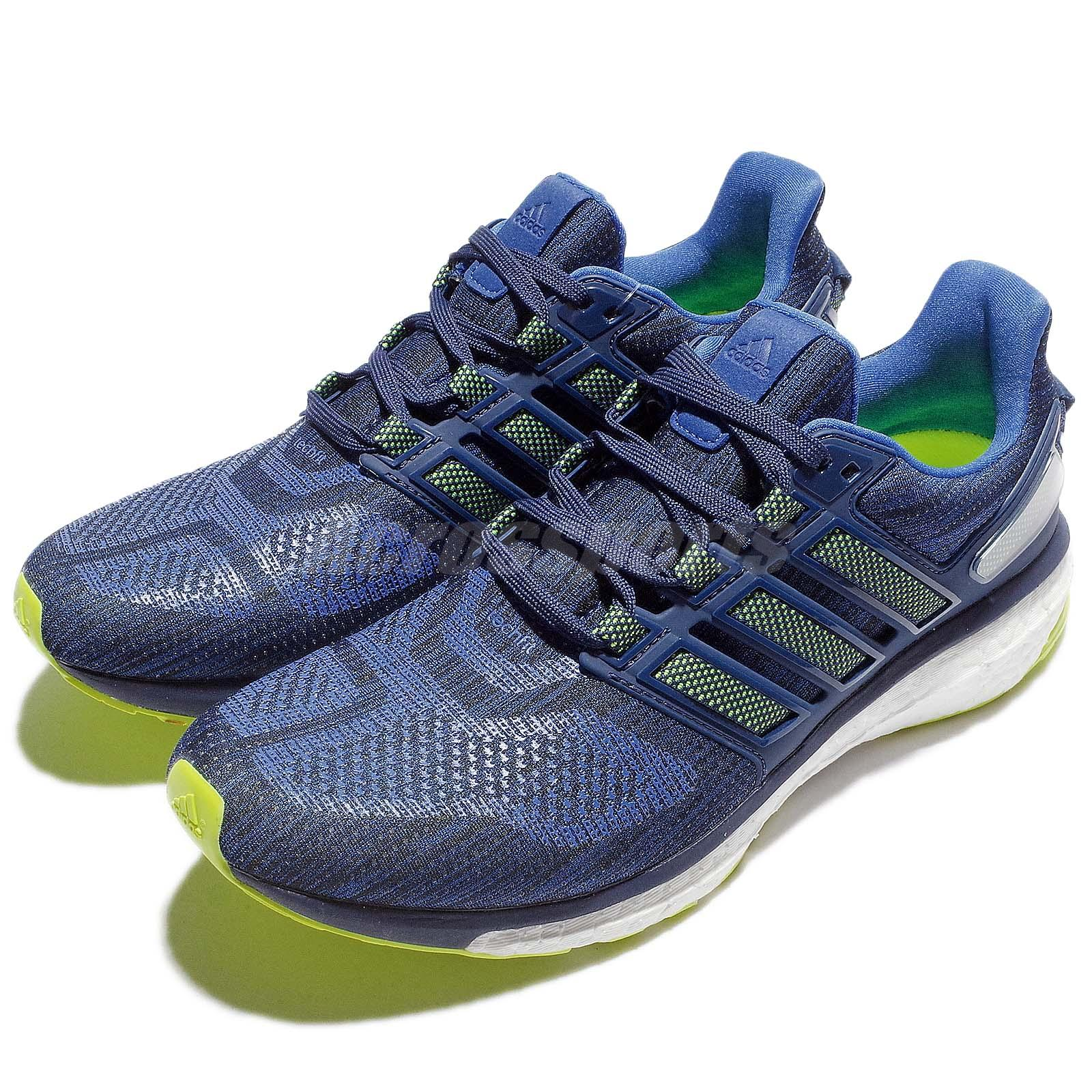 adidas energy boost 3 m blue green mens running shoes