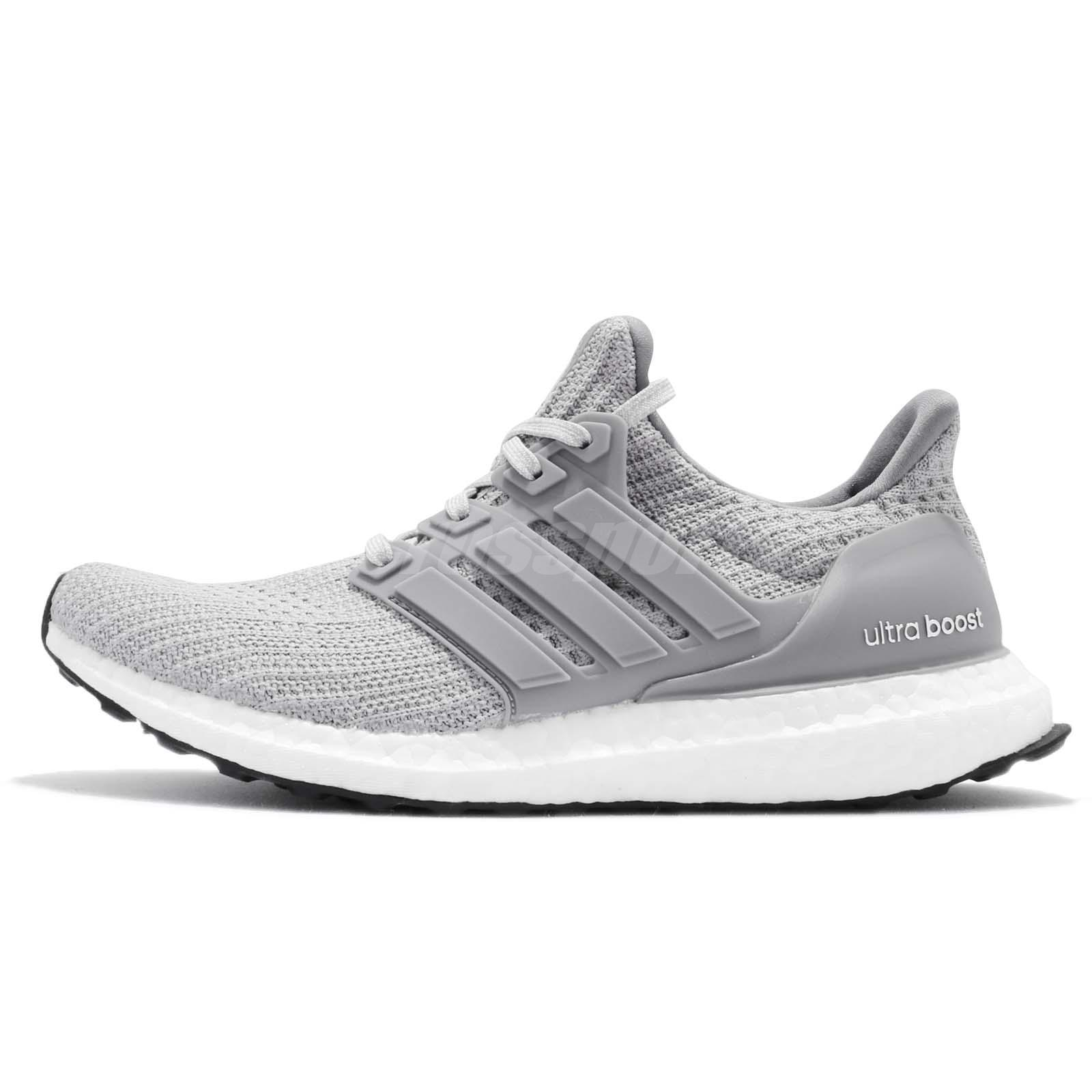 2fb854a213d adidas UltraBOOST W 4.0 Grey White Women Running Casual Shoes Sneakers  BB6150