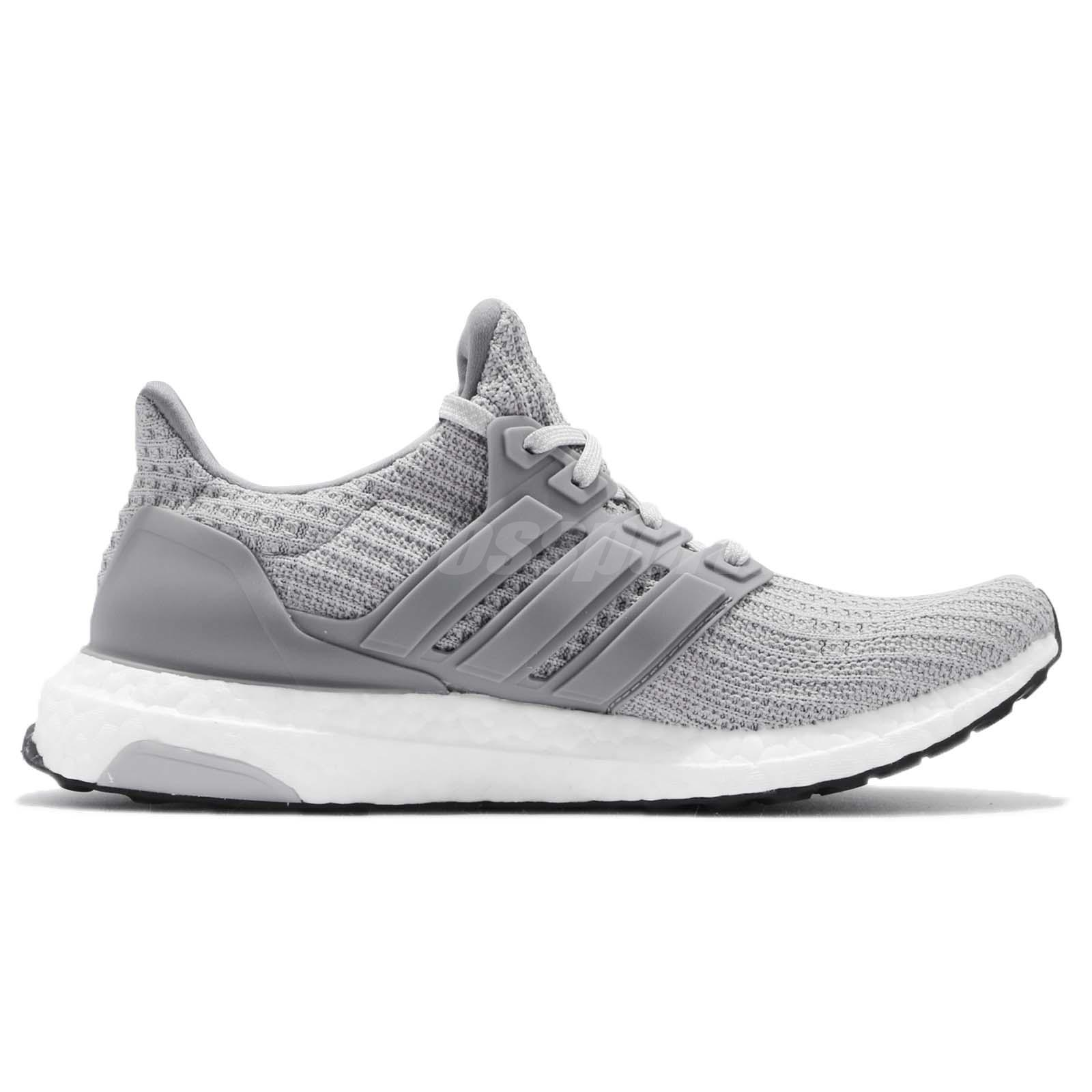 a22bfde764b adidas UltraBOOST W 4.0 Grey White Women Running Casual Shoes ...