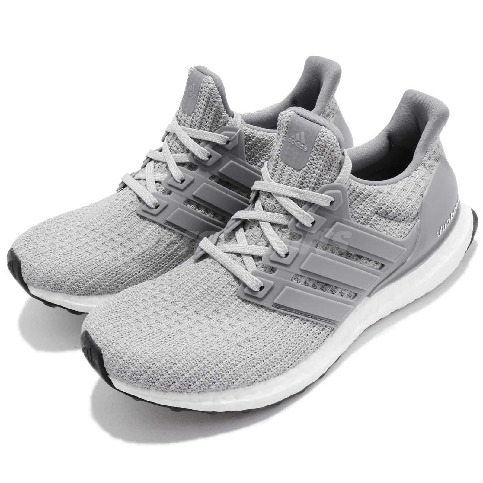 b32a5ffc1 Details about adidas UltraBOOST W 4.0 Grey White Women Running Casual Shoes  Sneakers BB6150