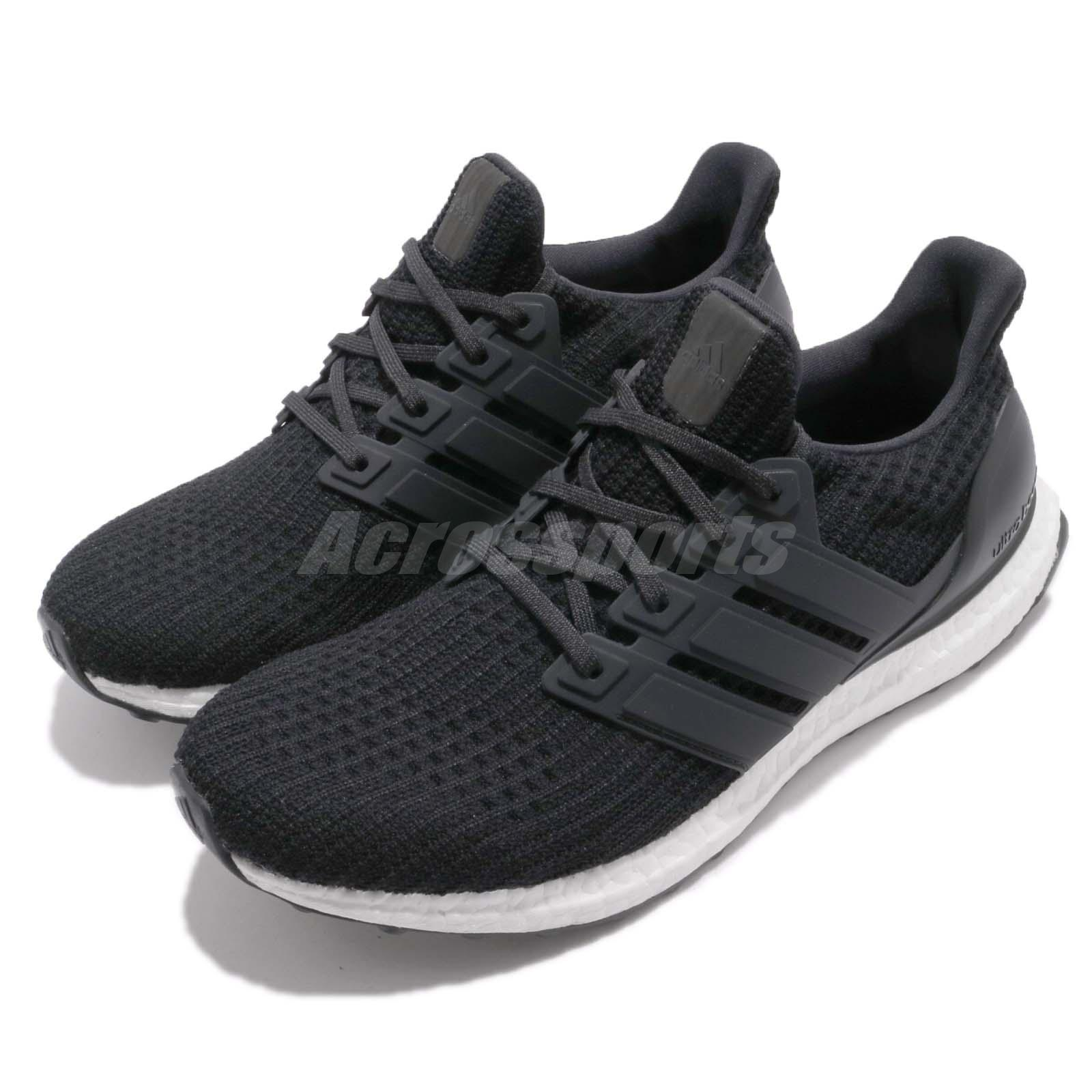 97e2b1989 Details about adidas UltraBOOST 4.0 Core Black Cloud White Mens Running  Shoes Sneakers BB6166