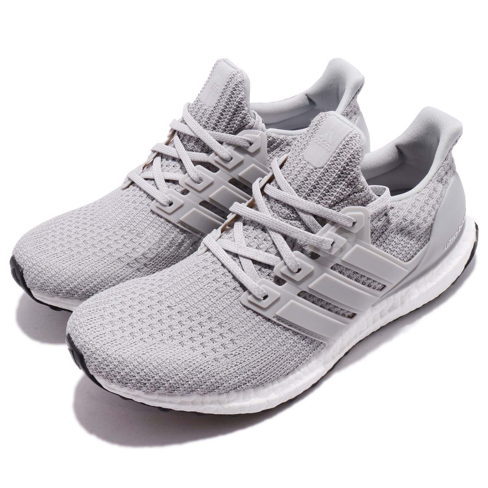 fc67a11078c38 Details about adidas UltraBOOST 4.0 Continental Grey White Men Running Shoes  Sneaker BB6167