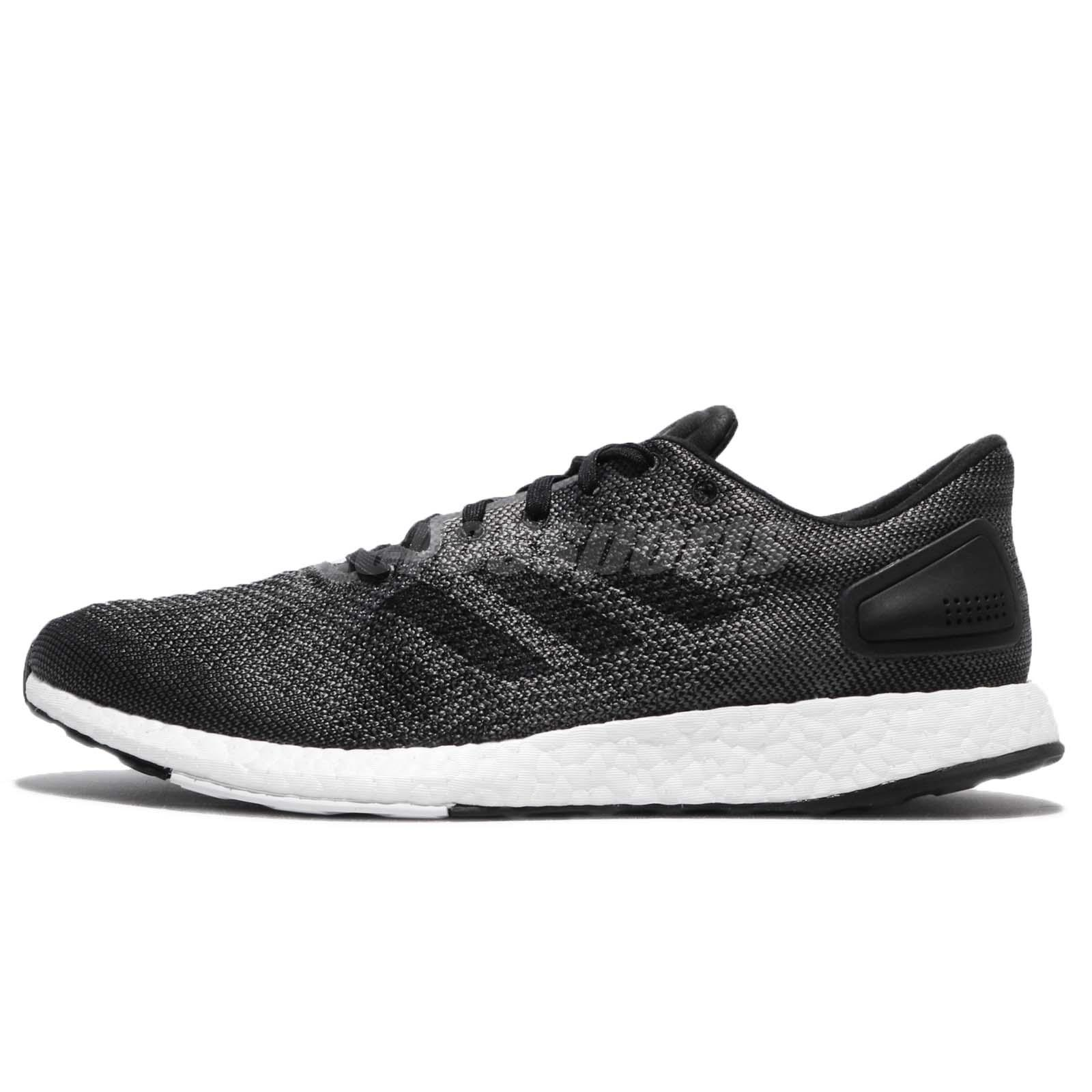 555caead5c7d6 adidas PureBOOST DPR Solid Grey Black Men Running Shoes Sneakers Trainers  BB6291
