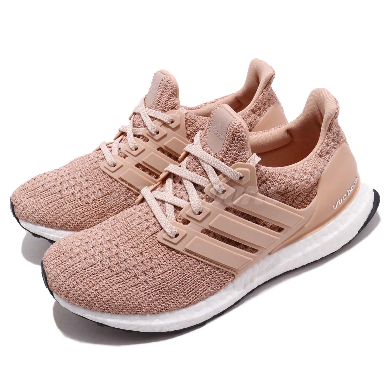 info for 552dd 307ae Details about adidas UltraBOOST W 4.0 Ash Pearl Pink Womens Running Shoes  BOOST BB6309