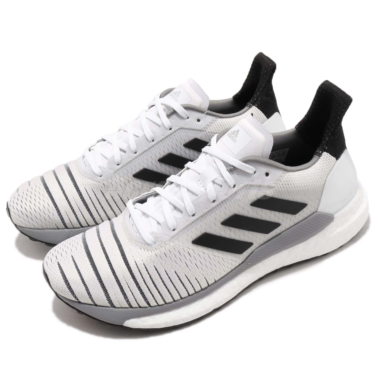 adidas Solar Glide W Boost White Black