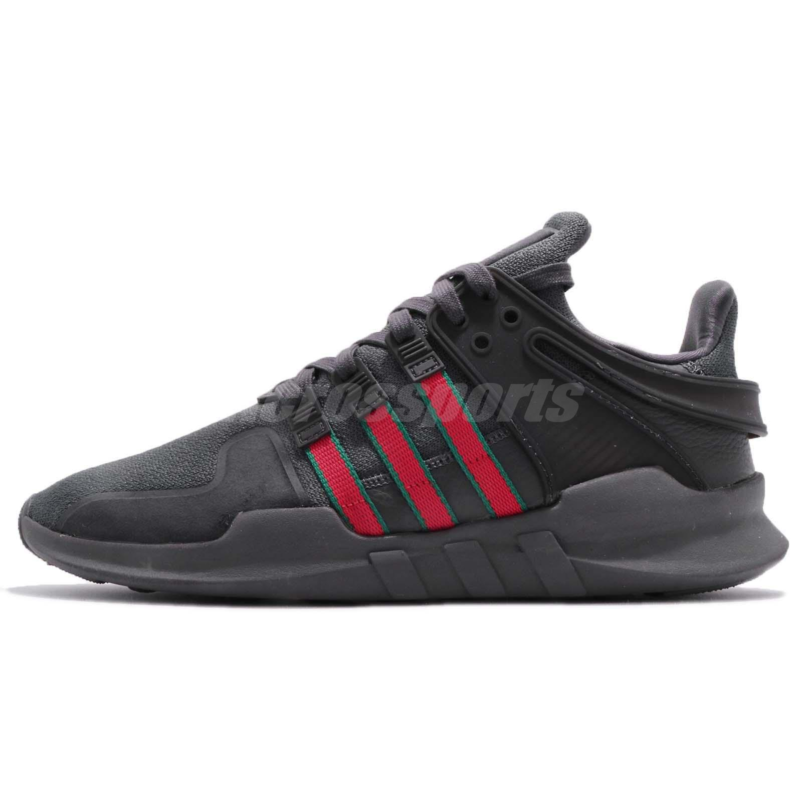 competitive price cd026 6f9c6 Details about adidas Originals EQT SUPPORT ADV Utility Black Red Green Men  Shoes BB6777