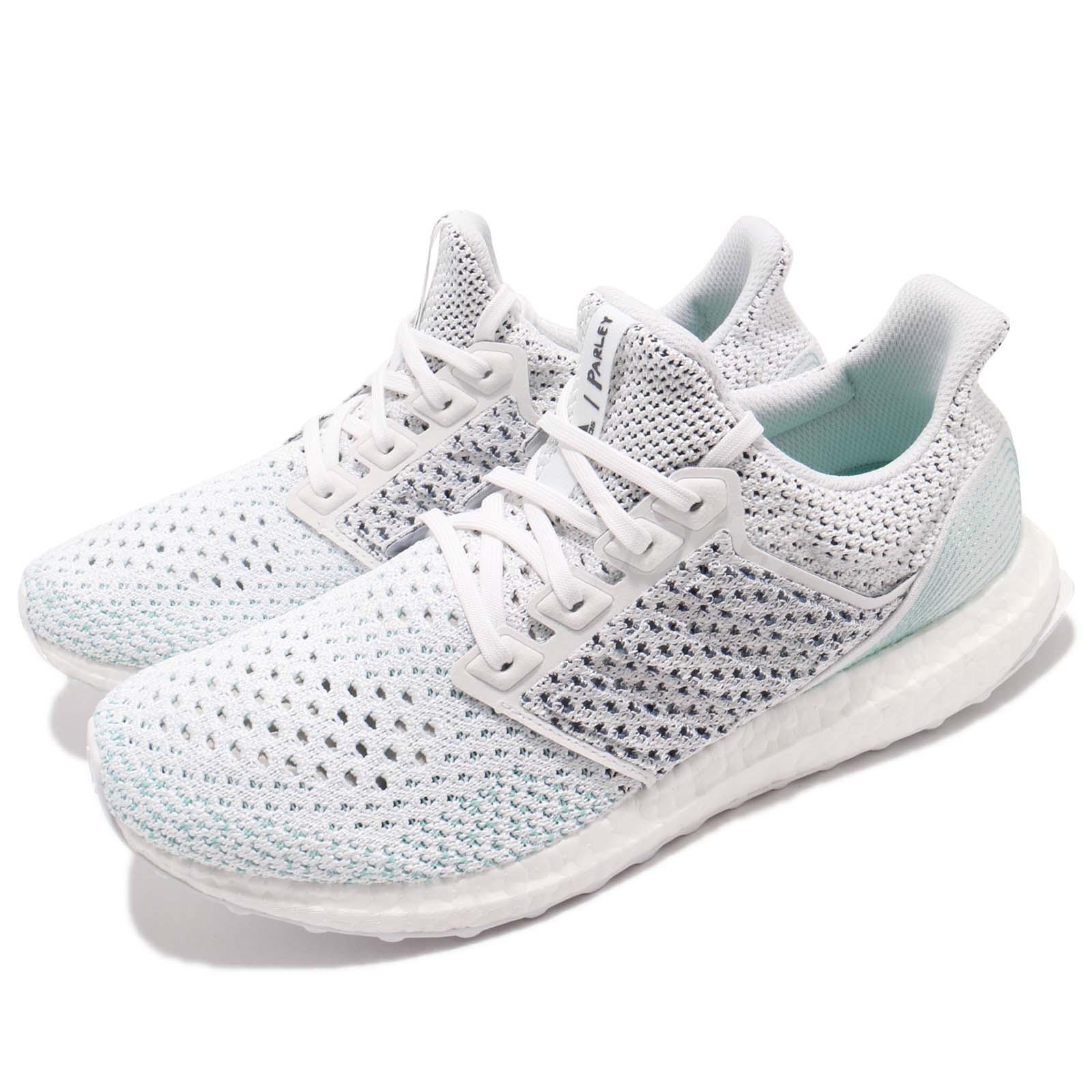 on sale fb077 4d25a Details about adidas UltraBOOST Parley LTD 4.0 Cloud Footwear White Blue  Spirit Men BB7076