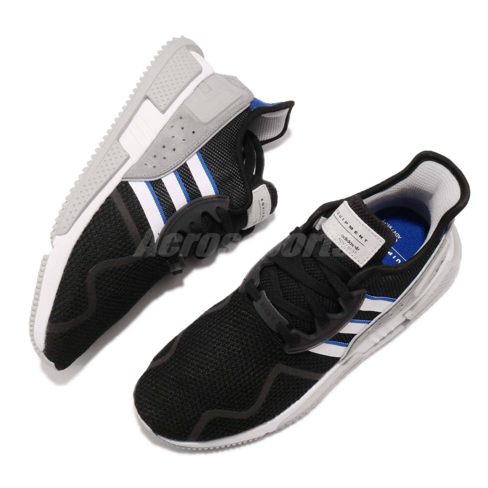 newest fdfe6 d8b72 adidas Originals EQT Cushion ADV Black Grey Blue Men Running