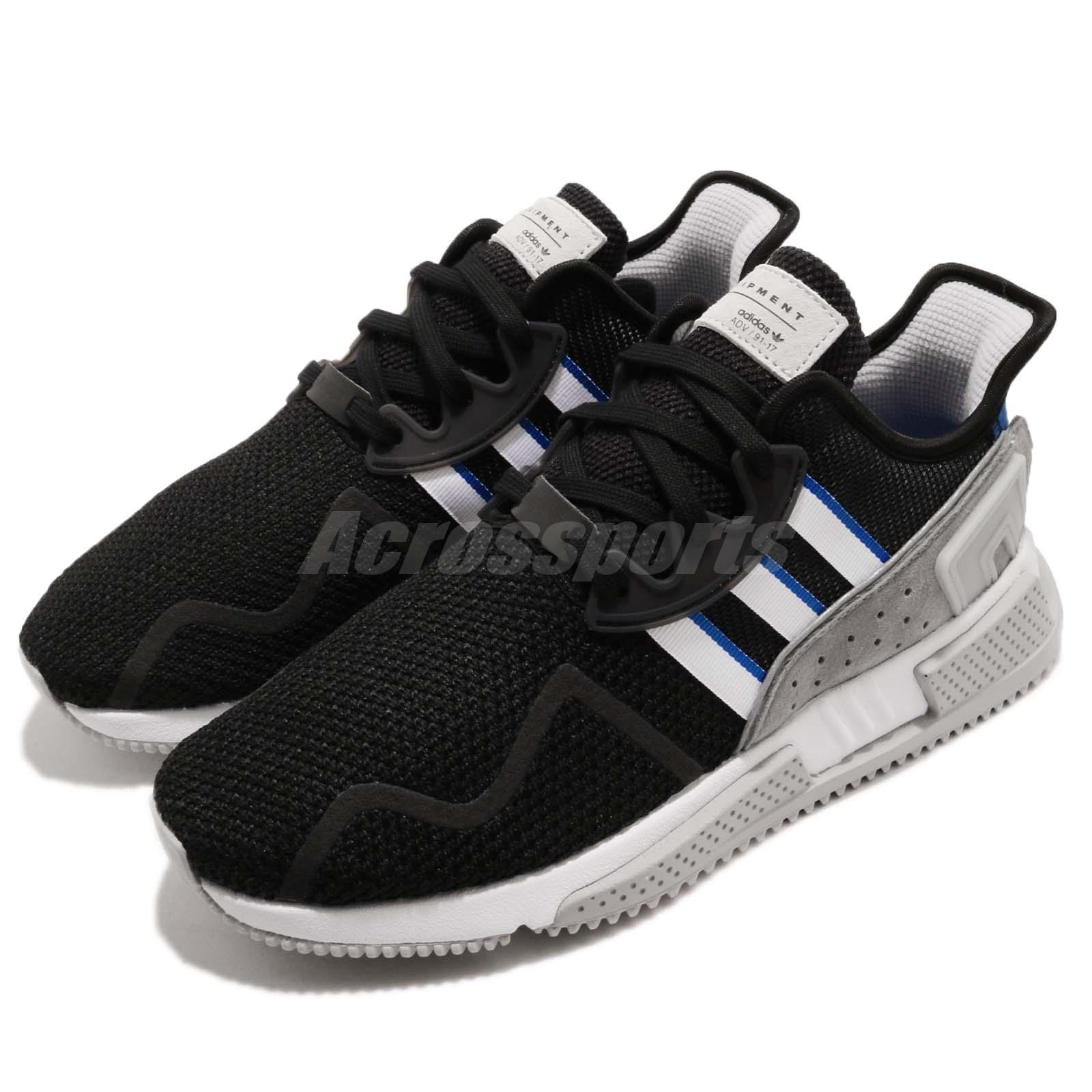 5640124a5f45 Details about adidas Originals EQT Cushion ADV Black Grey Blue Men Running  Shoe Sneaker BB7177