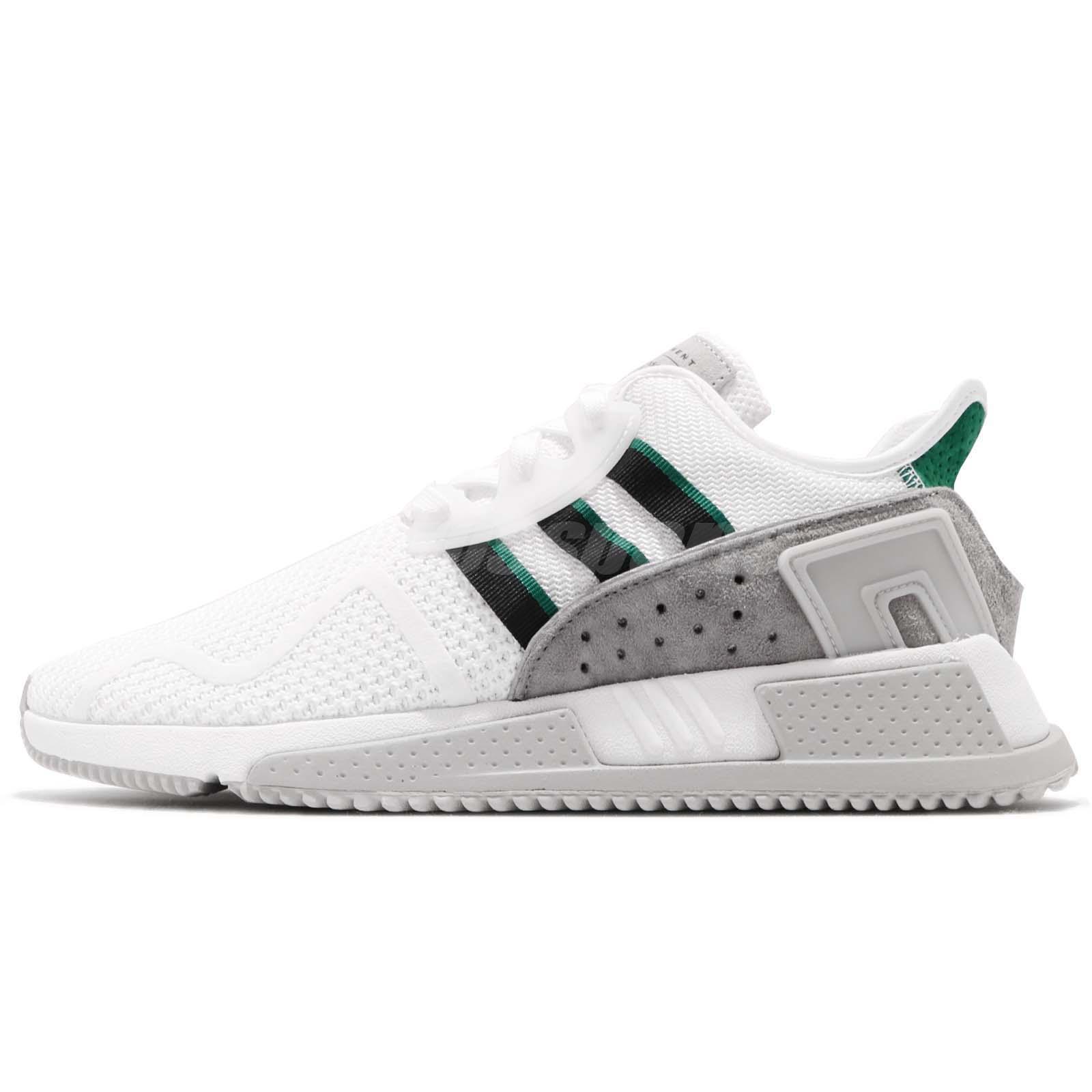 promo code edd6b eb118 adidas Originals EQT Cushion ADV White Grey Green Men Running Casual Shoe  BB7178