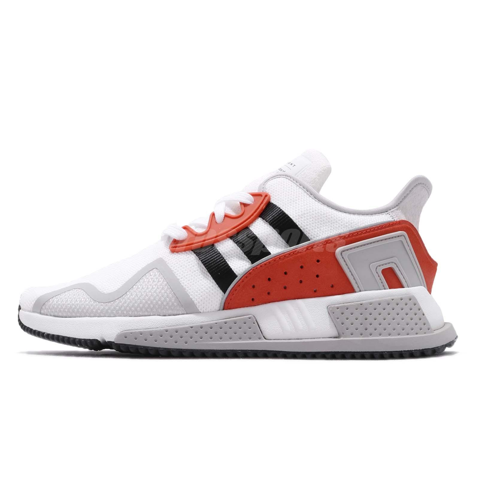 hot sale online 9e1e8 f5398 adidas Originals EQT Cushion ADV White Black Hi-Res Red Men Running Shoes  BB7180