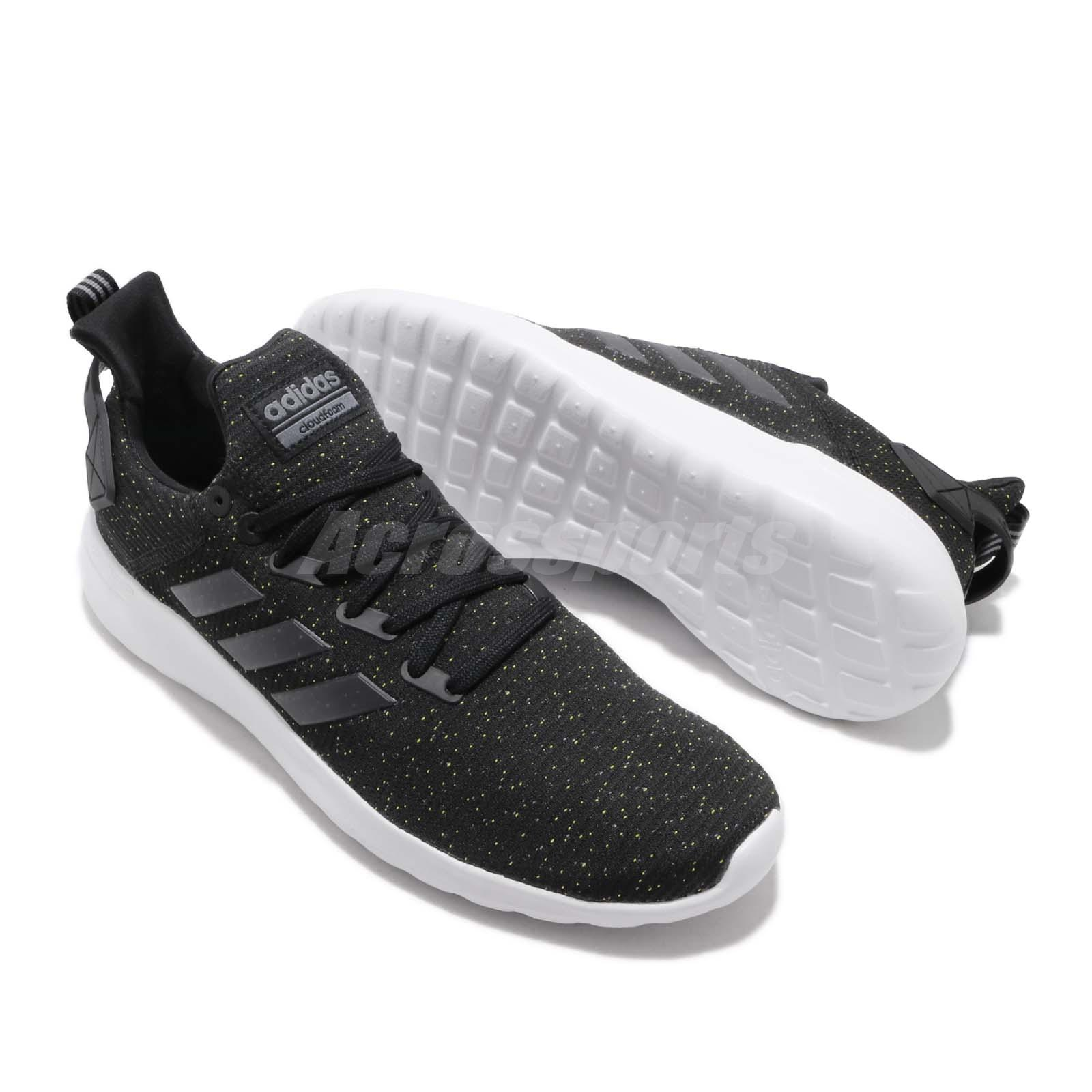 adidas Lite Racer BYD Black Onix White Men Running Casual Shoes ... f54526250