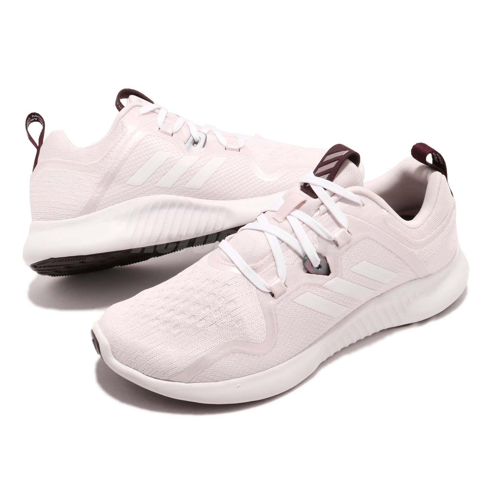 Details about adidas EdgeBOUNCE W Pink White Women Running Training Shoes  Sneakers BB7562 8d16d068f