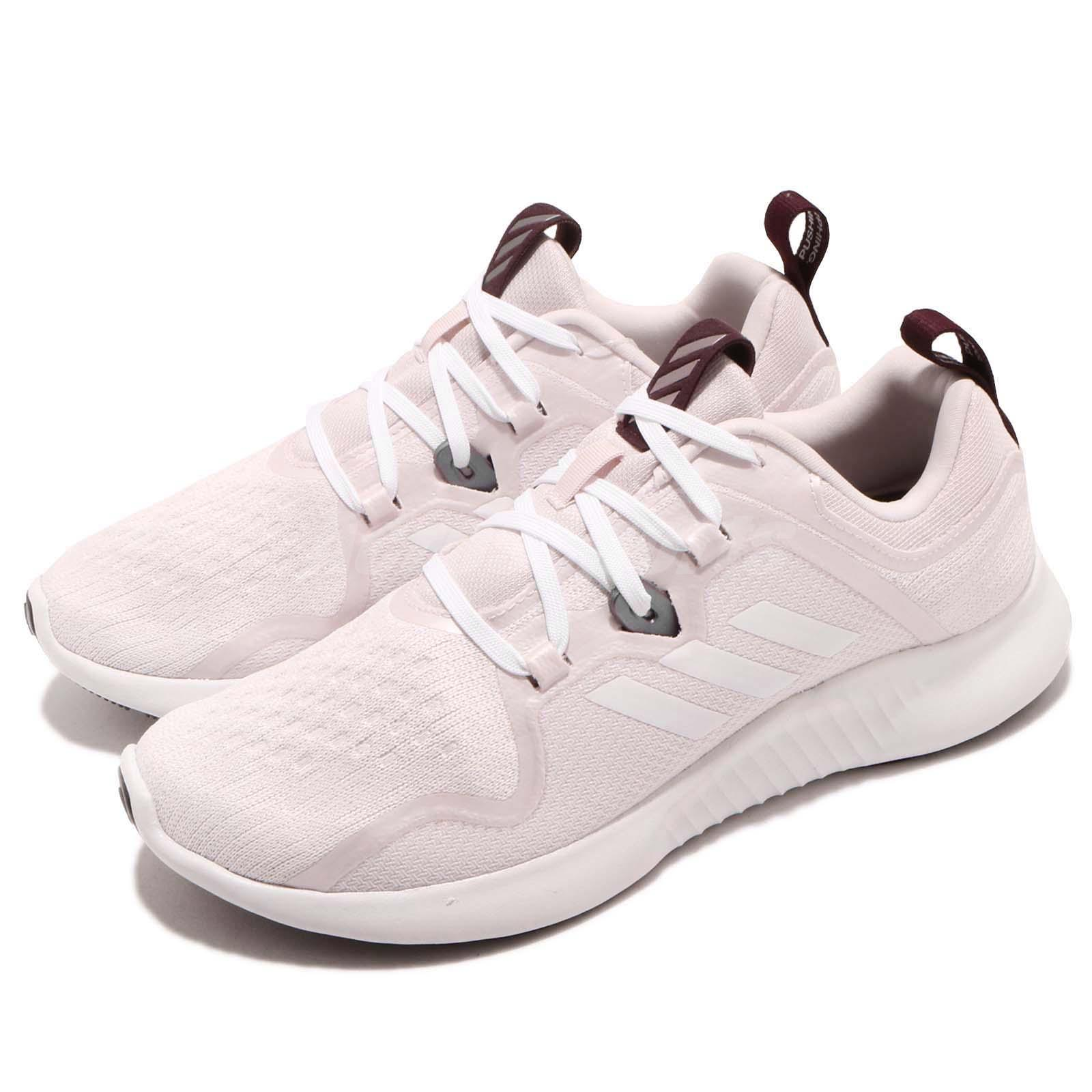 d49faa7dd9 Details about adidas EdgeBOUNCE W Pink White Women Running Training Shoes  Sneakers BB7562