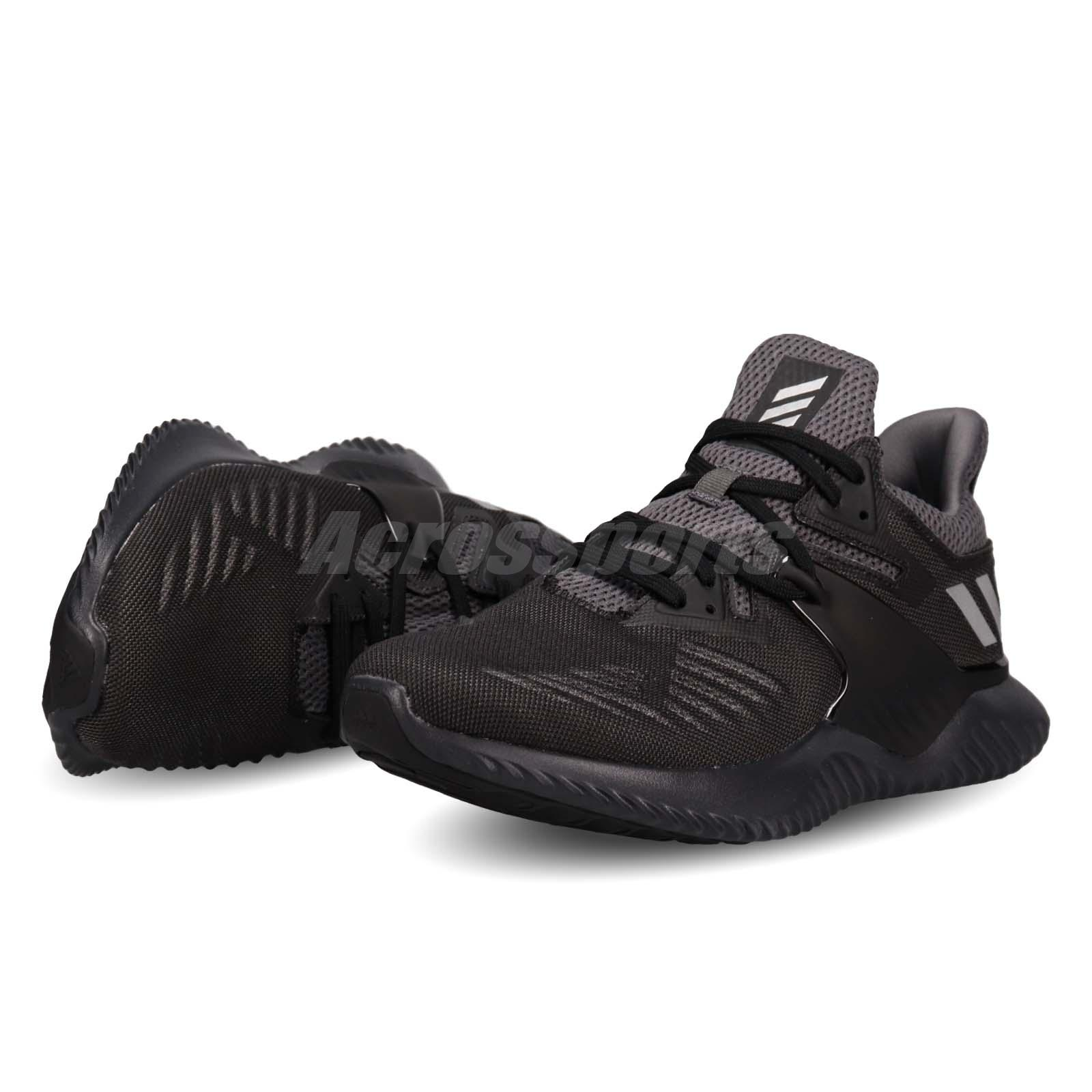 Details about adidas Alphabounce Beyond 2 M Black Silver Men Running Shoes  Sneakers BB7568