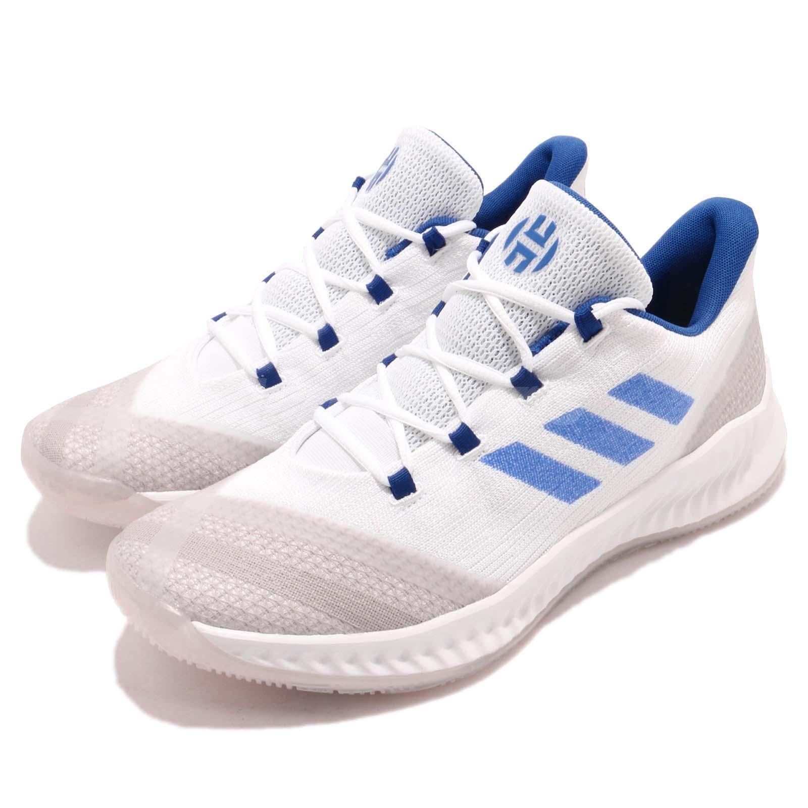 a073f93b38d1 Details about adidas Harden B E 2 II James White Blue Grey Men Basketball  Shoes Sneaker BB7672