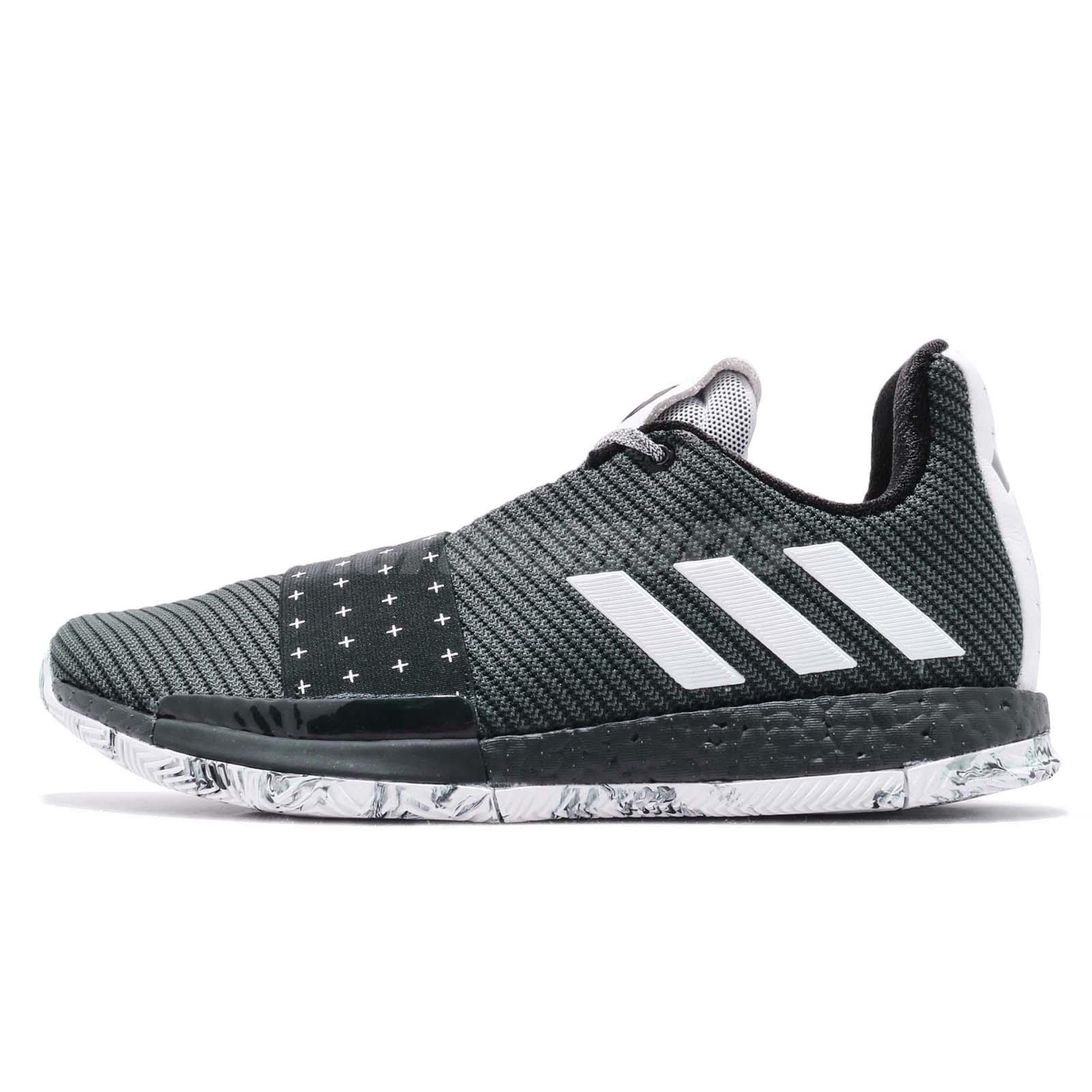 7977cb4669f4 adidas Harden Vol. 3 Boost James Black White Men Basketball Shoes Sneaker  BB7723