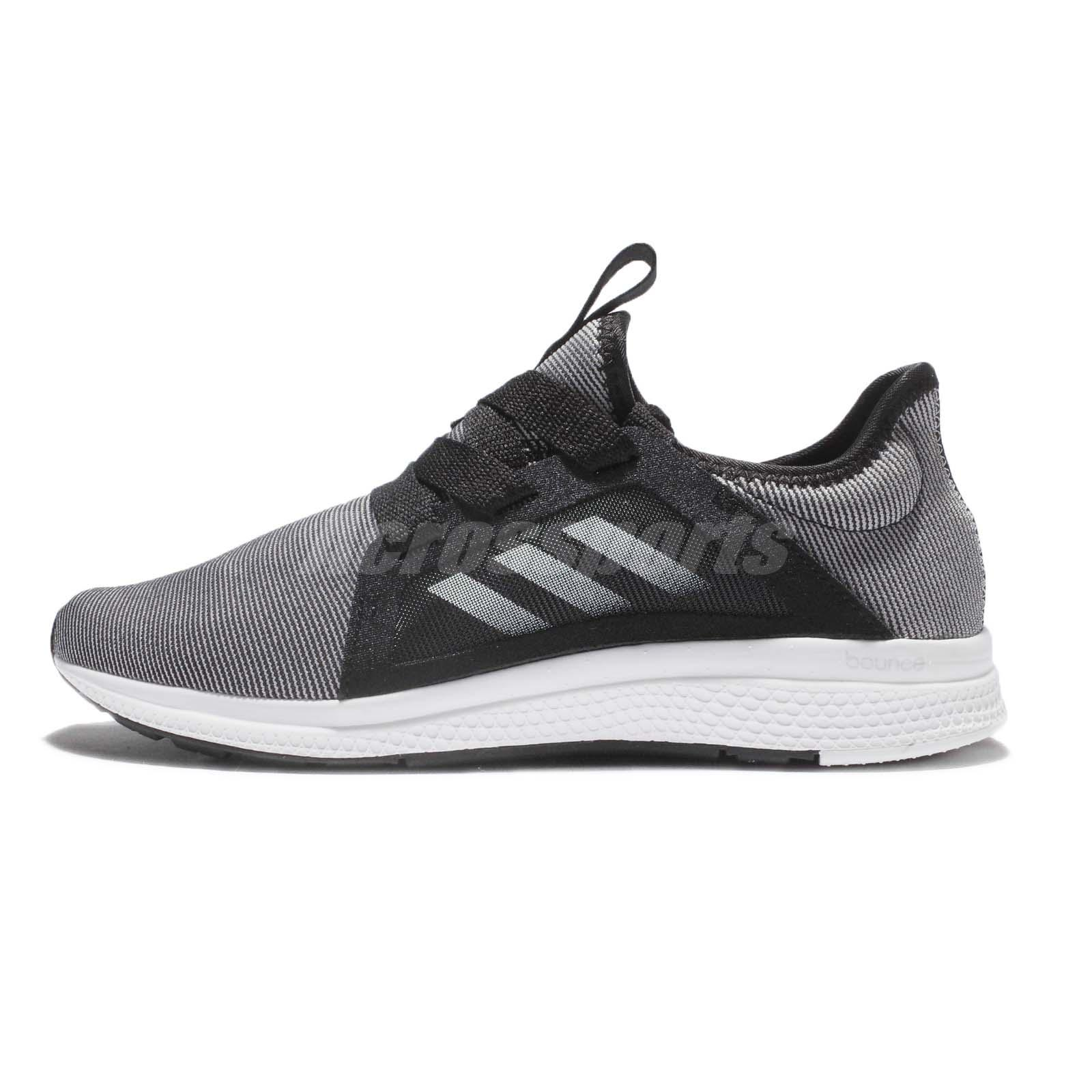 adidas Edge Lux W BOUNCE Black Grey White Women Running Shoes Sneakers  BB8211 a878a7e2a