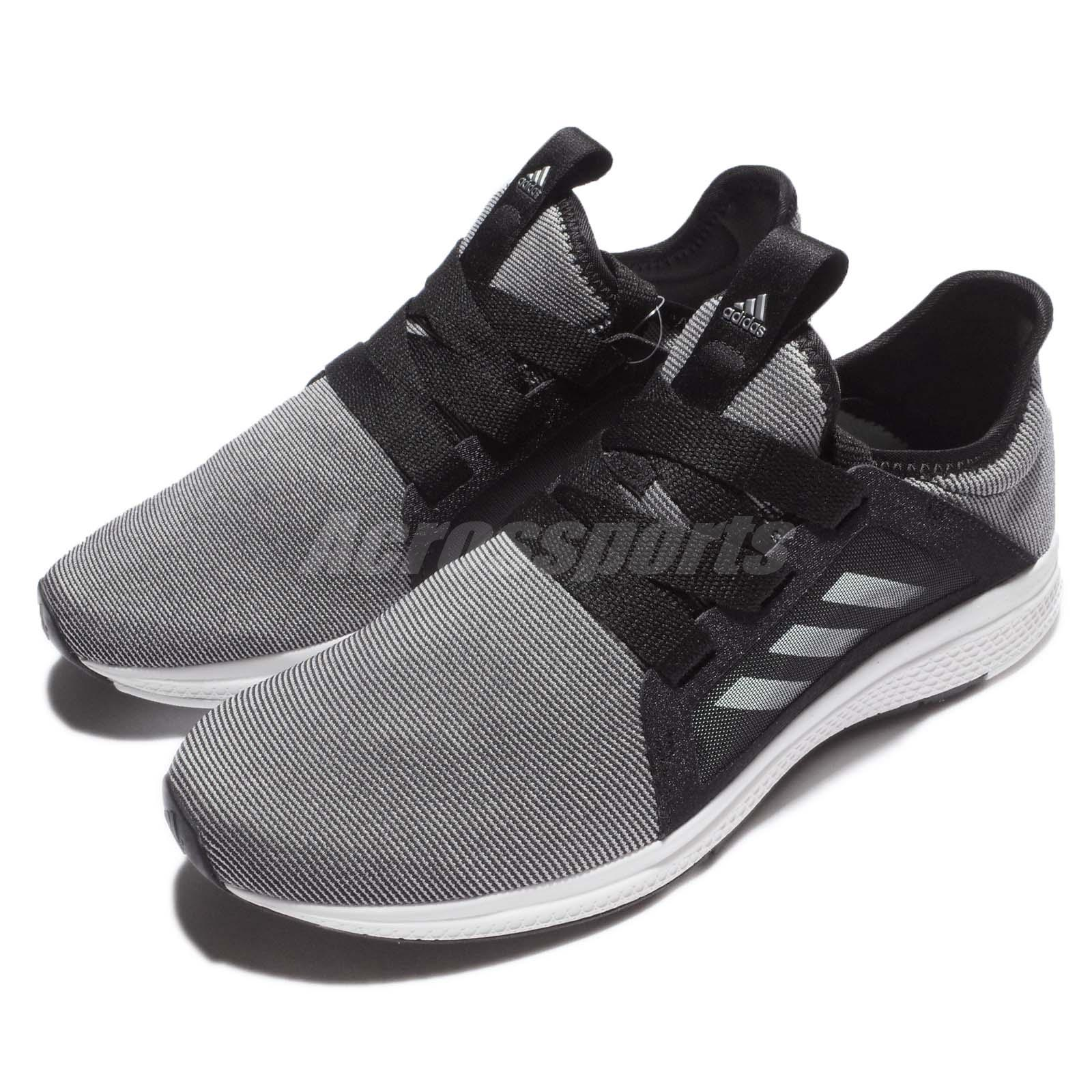pretty nice 8f2b6 b7919 Details about adidas Edge Lux W BOUNCE Black Grey White Women Running Shoes  Sneakers BB8211