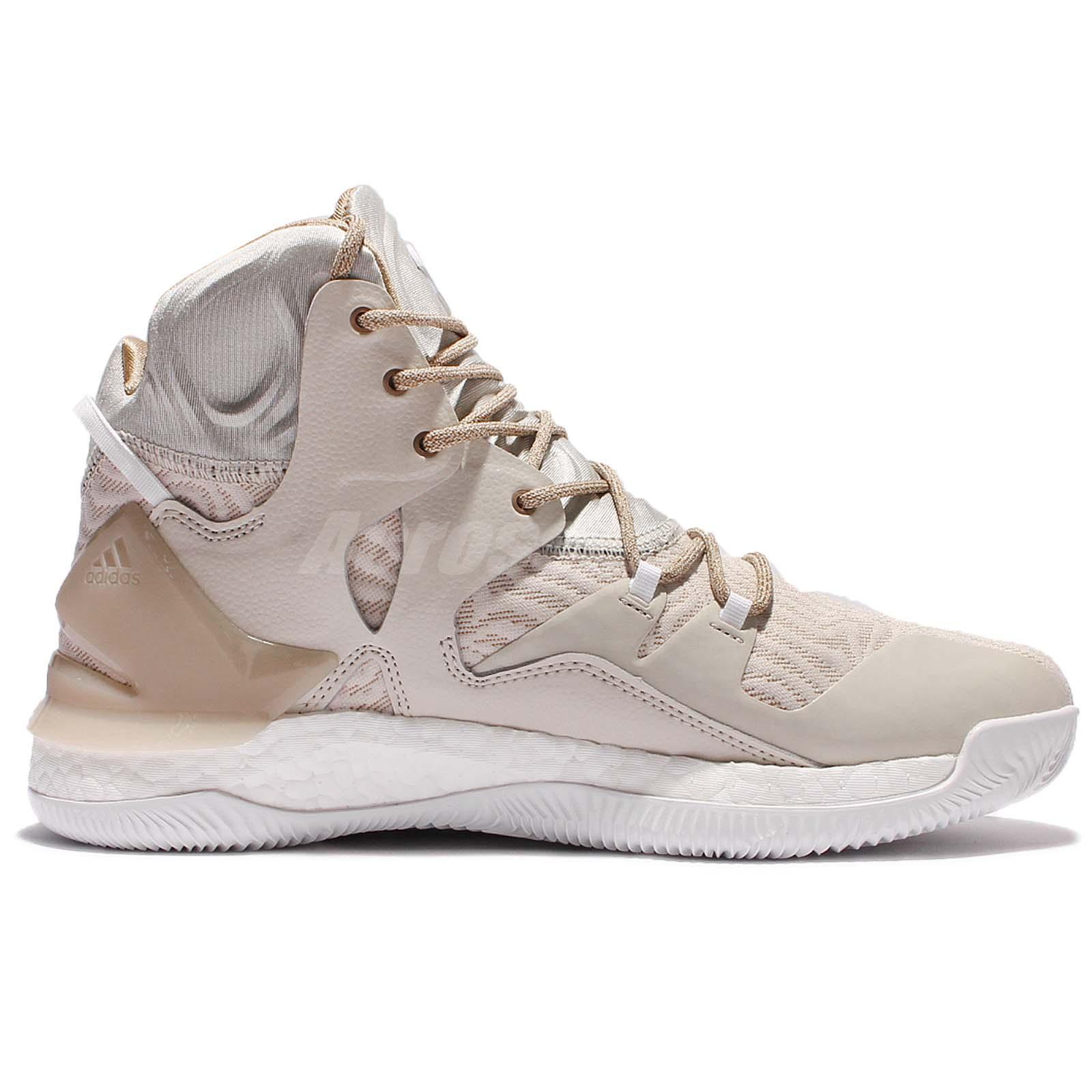 brand new abd1a dbcad derrick rose white shoes
