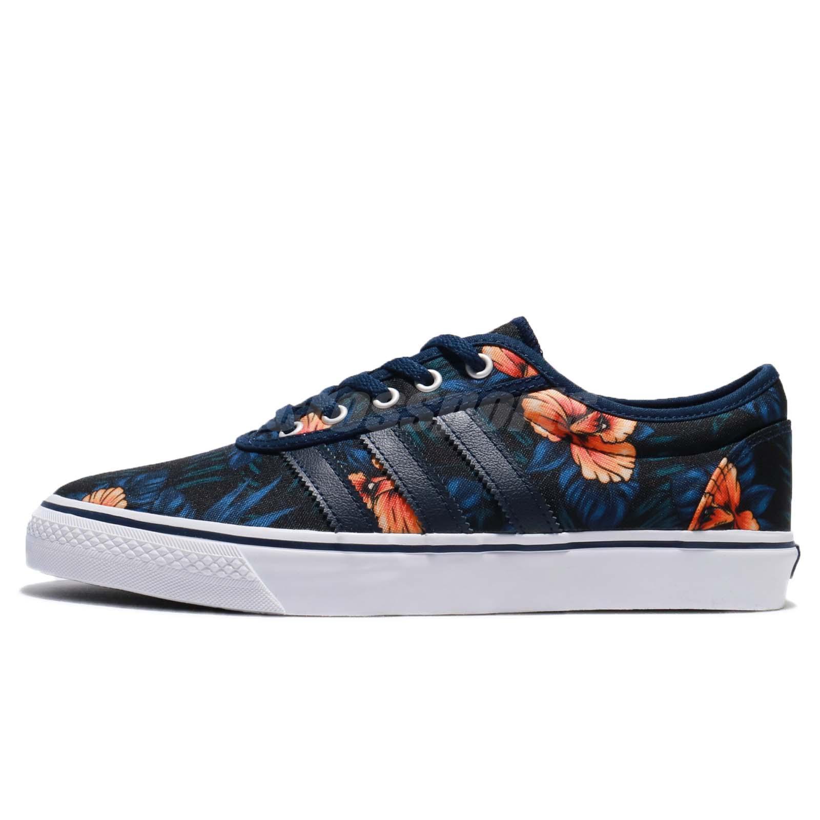 adidas Adi-Ease Floral Indigo Blue White Women Shoes Slip-On Sneakers BB8472 31e9c40b8