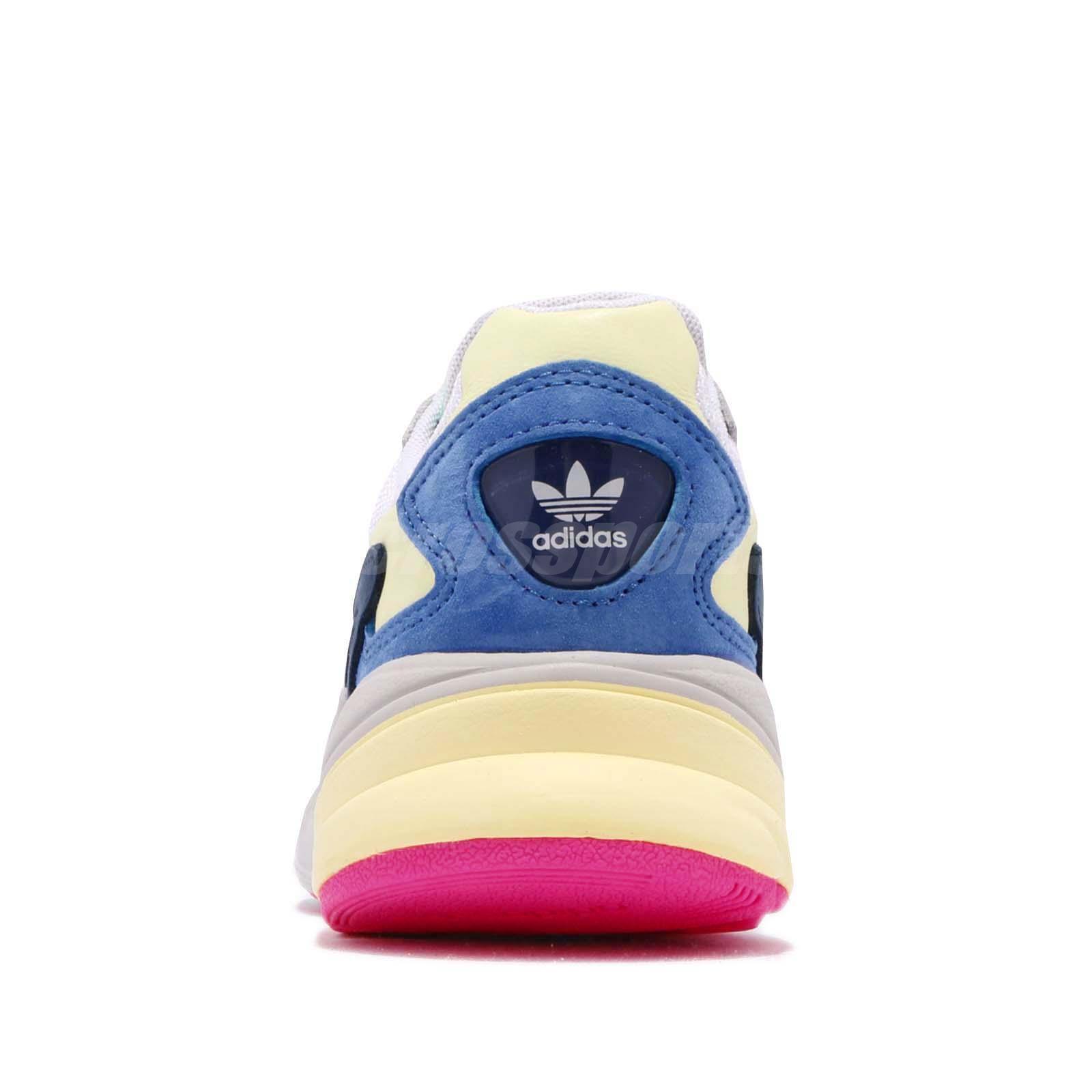 7d5cf34e15af adidas Originals Falcon W White Blue Green Yellow Women Lifestyle ...