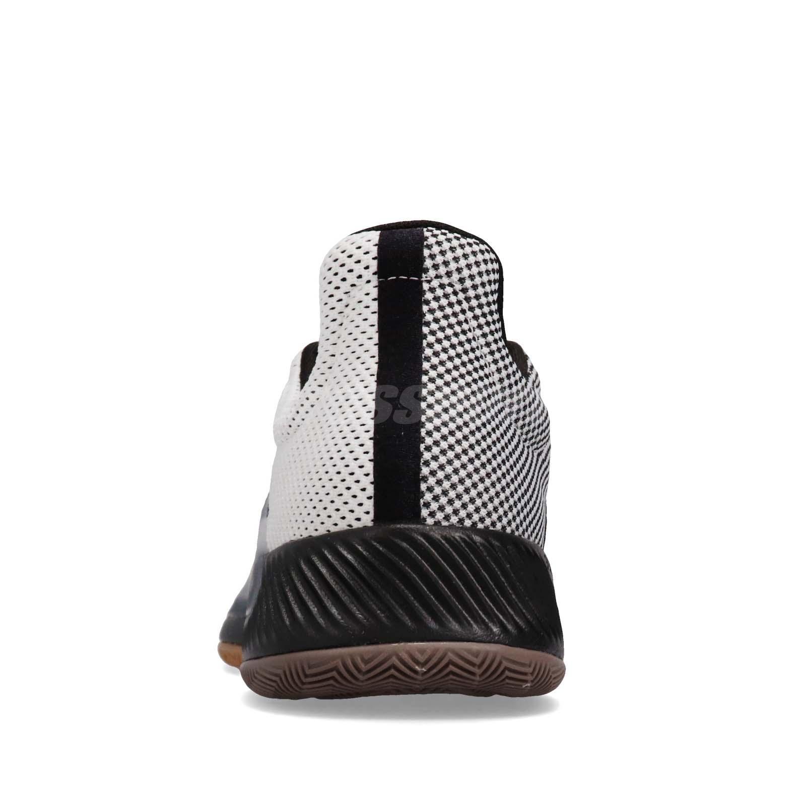 dd3310fcbf88 adidas Pro Bounce Madness Low 2019 Black White Gum Men Basketball ...