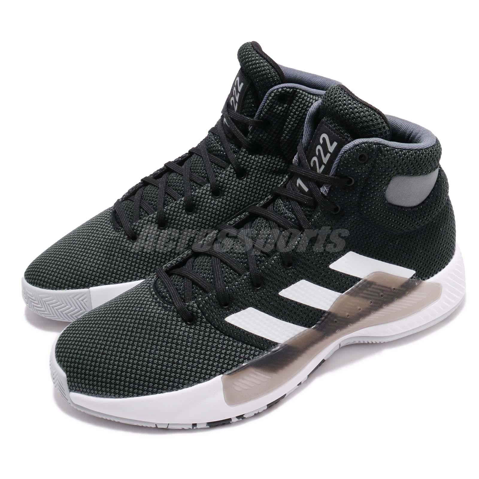 5e162736e Details about adidas Pro Bounce Madness 2019 Black White Grey Men  Basketball Shoes BB9239