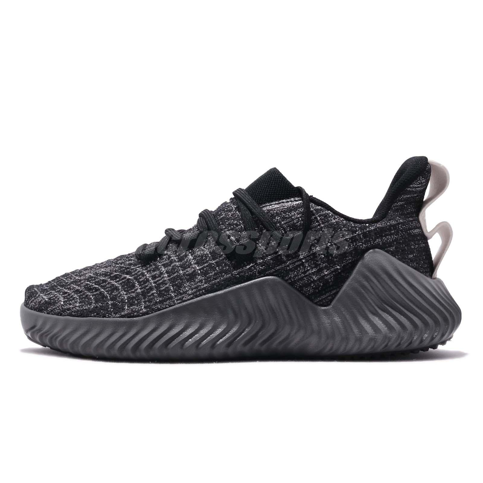 94d2990cfd8ae adidas Alphabounce Trainer Black Grey Raw White Men Cross Training Shoes  BB9250