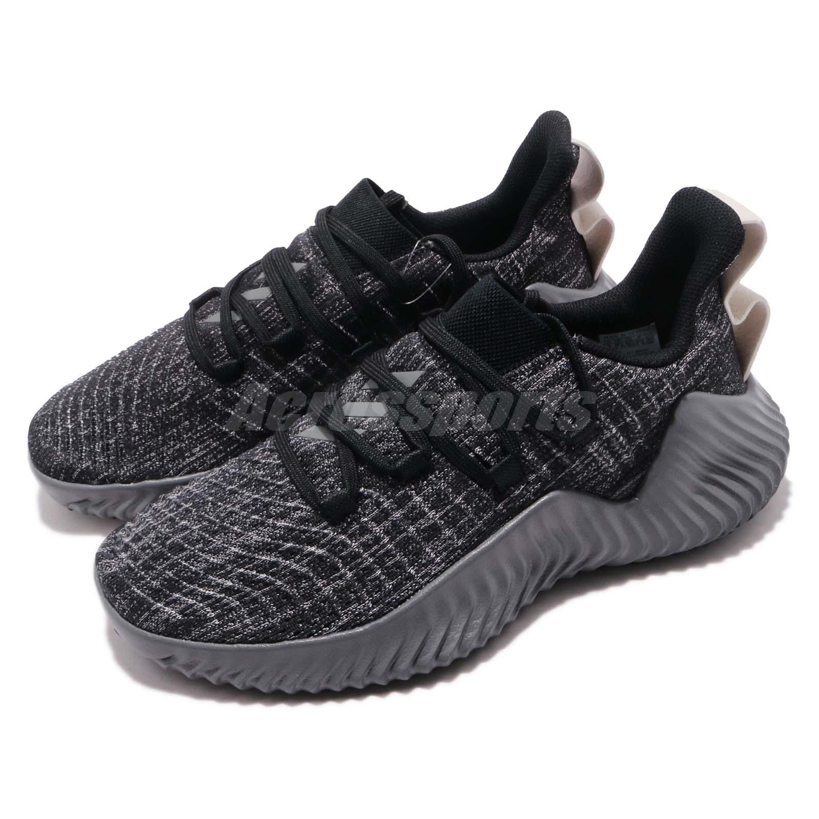 Details about adidas Alphabounce Trainer Black Grey Raw White Men Cross  Training Shoes BB9250