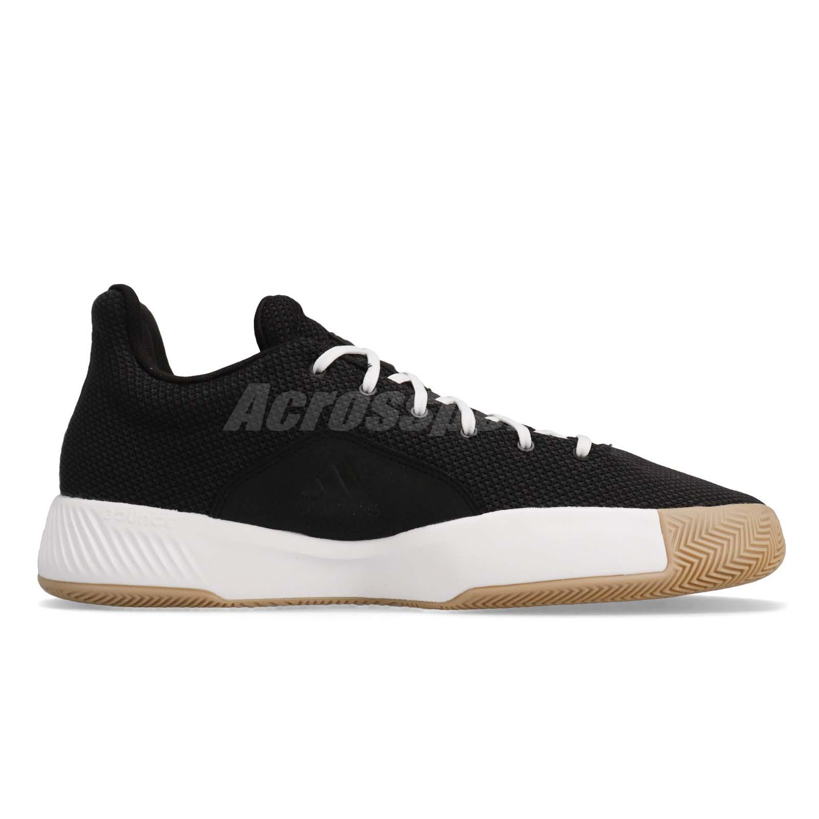 ce5e13cdac04 adidas Pro Bounce Madness Low 2019 Black White Grey Men Basketball ...