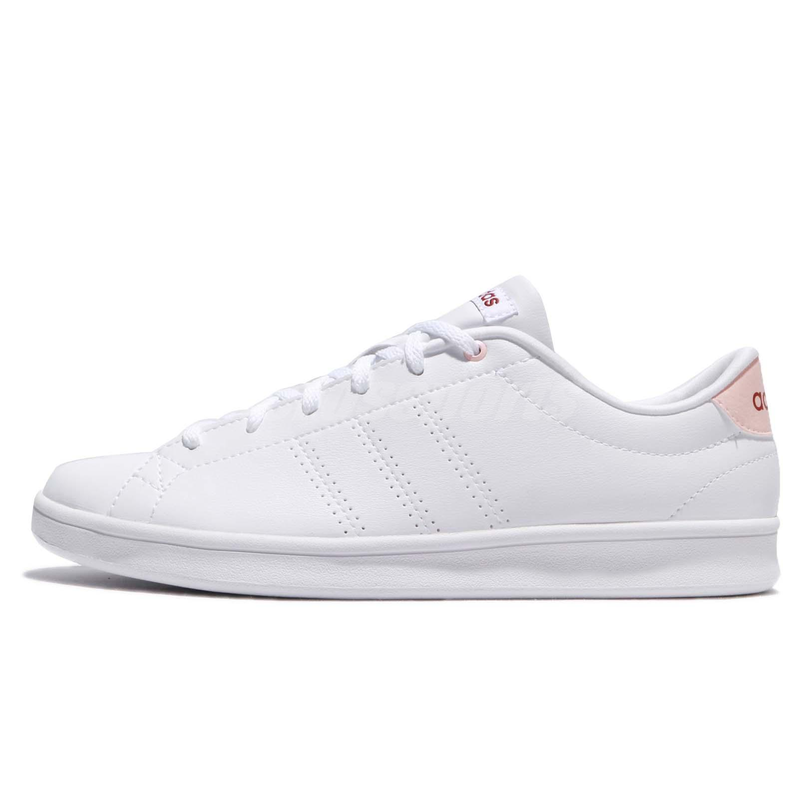 buy online 92094 109b6 adidas Neo Advantage CL Clean QT W White Mystery Ruby Pink Women Shoes  BB9611