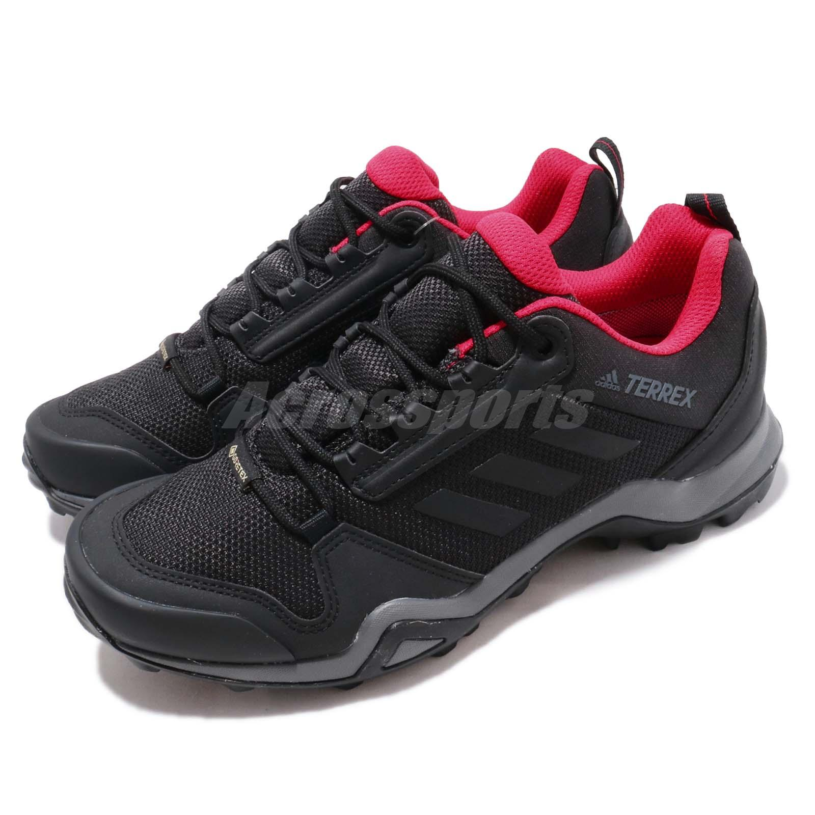 Details about adidas Terrex AX3 GTX W Gore-Tex Black Red Women Outdoors  Shoes Sneakers BC0572
