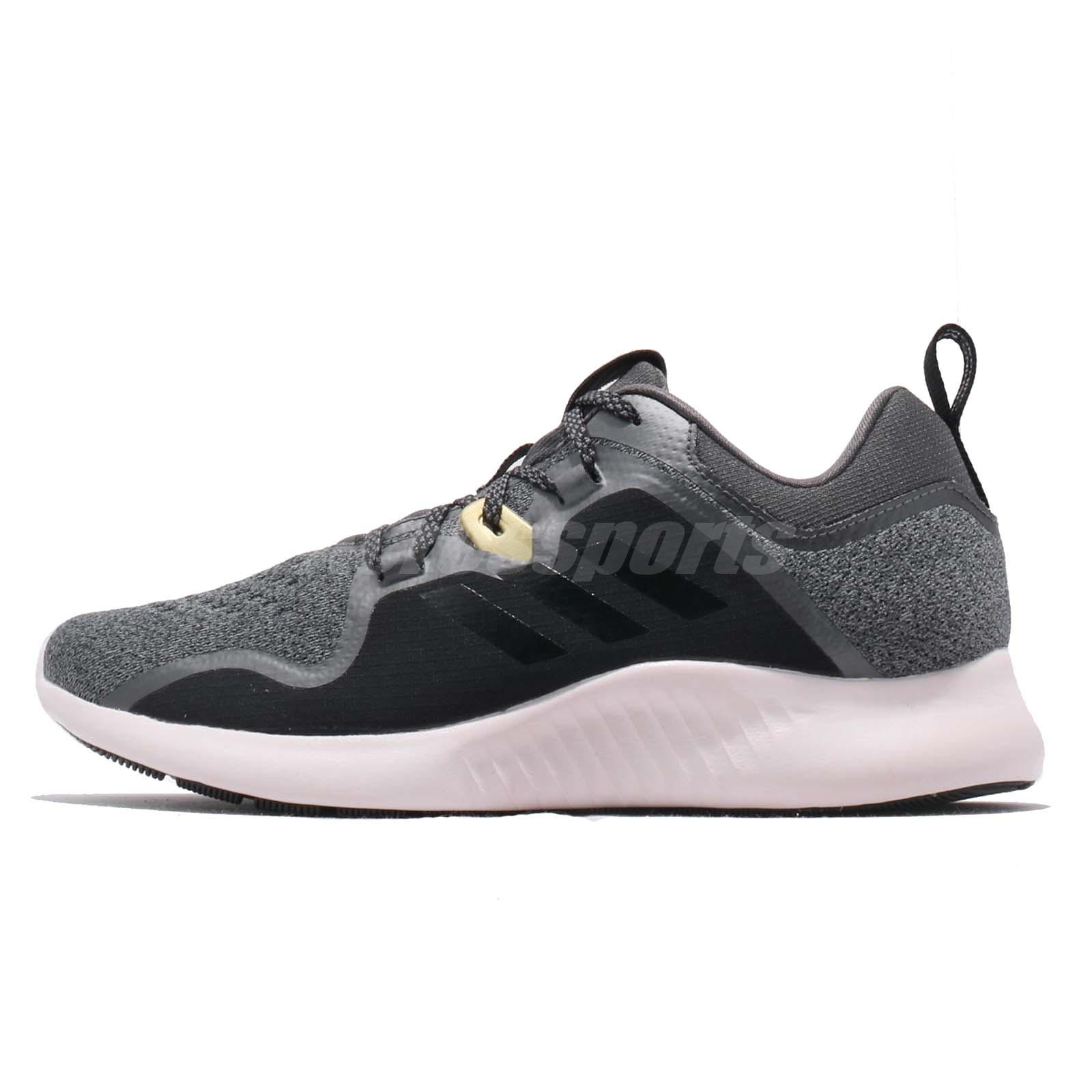 super popular 62088 85ae8 adidas Edgebounce W Black Grey Orchid Tint Women Running Shoes Sneakers  BC1050