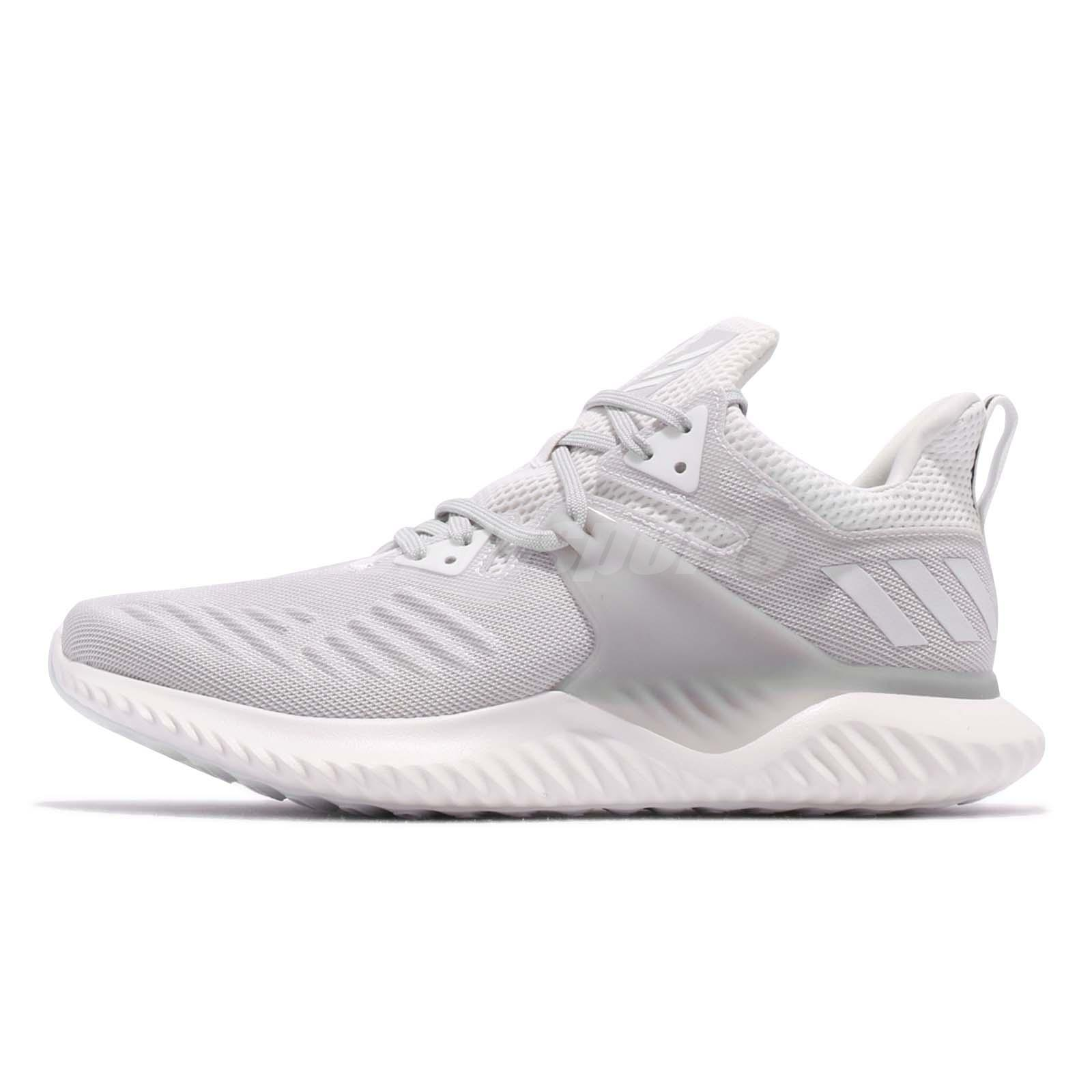 Details about adidas AlphaBOUNCE Beyond 2 M White Grey Men Running Shoes  Sneakers BD7095 f3399bf2b