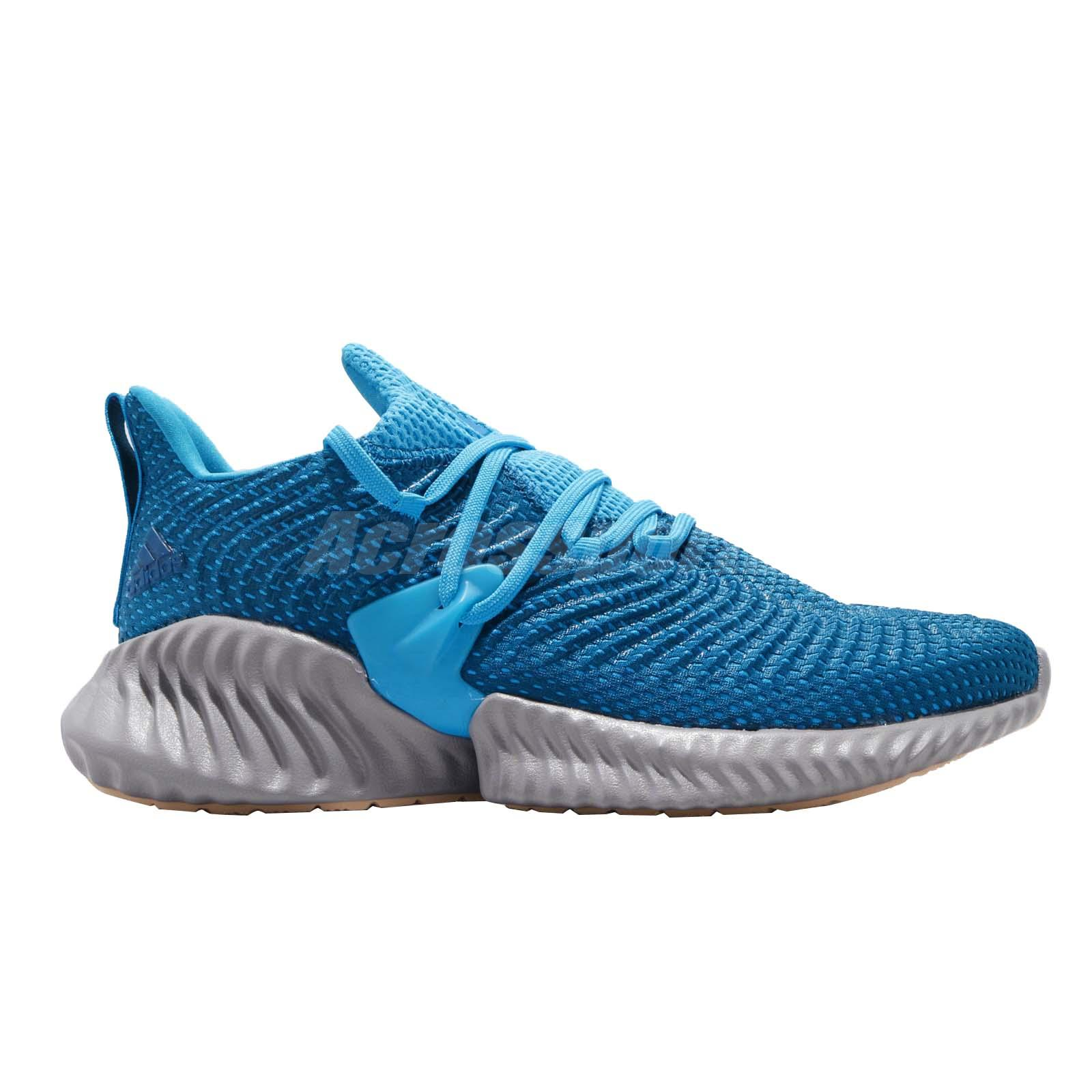 691ae85b930d1 adidas Alphabounce Instinct M Blue Grey Men Running Training Shoe ...