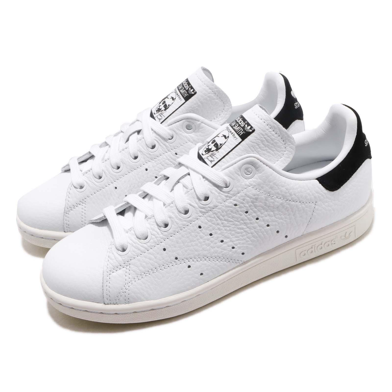 newest 091be 113fa Details about adidas Originals Stan Smith White Black Men Women Casual  Shoes Sneakers BD7436