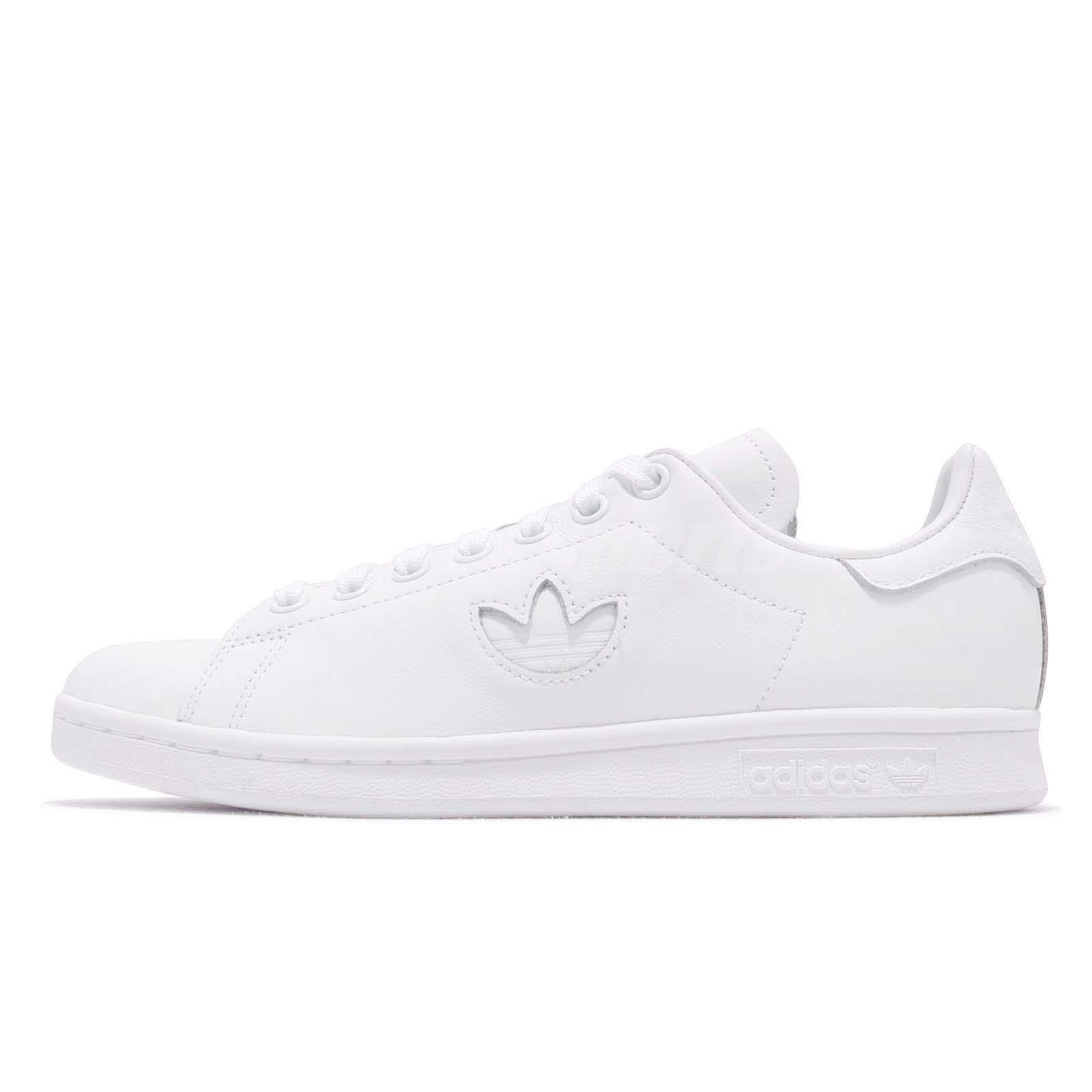 Details about adidas Originals Stan Smith Triple White Men Women Casual Lifestyle Shoes BD7451