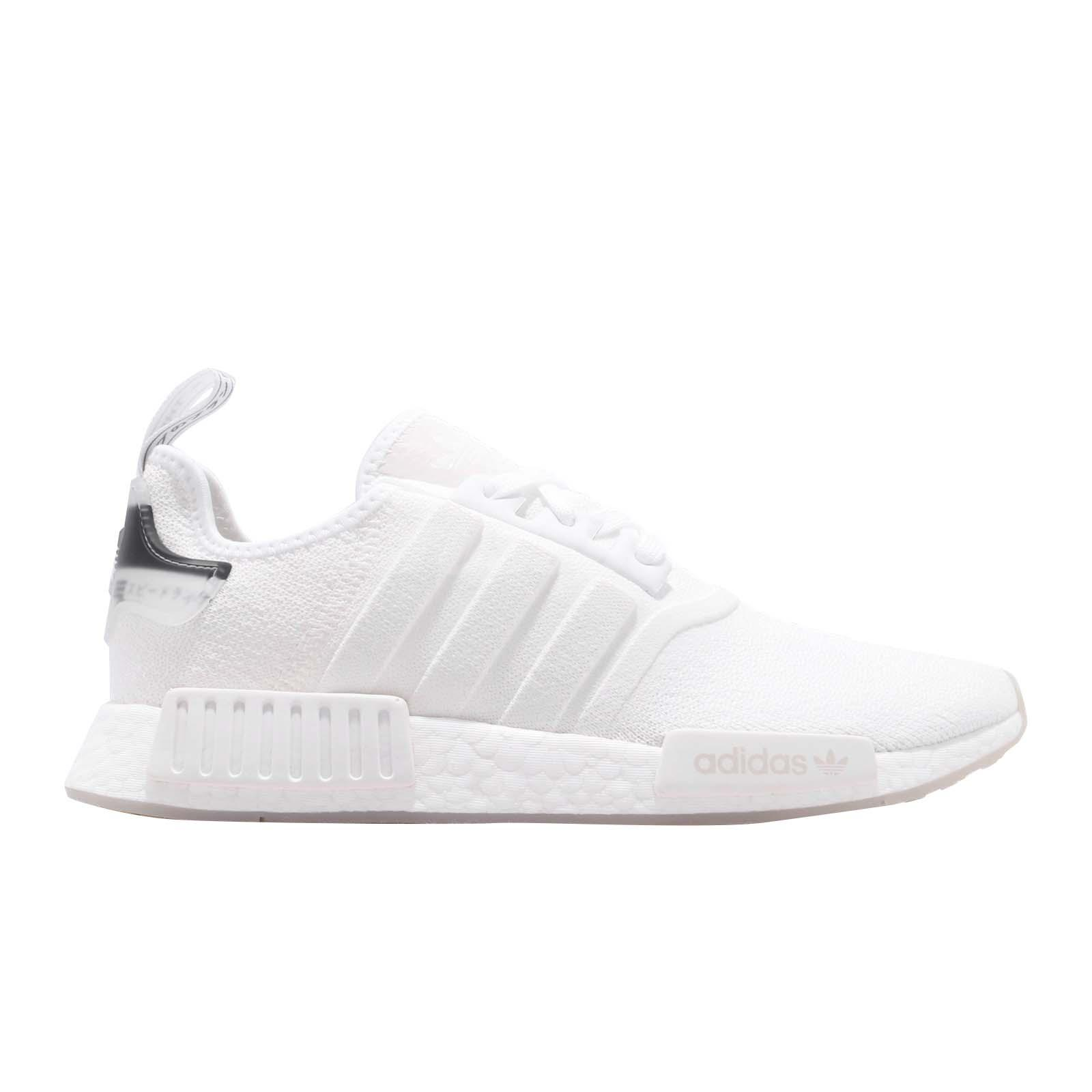 aa68fcd4d65c6 adidas Originals NMD R1 Boost White Black Men Running Shoes Sneakers ...
