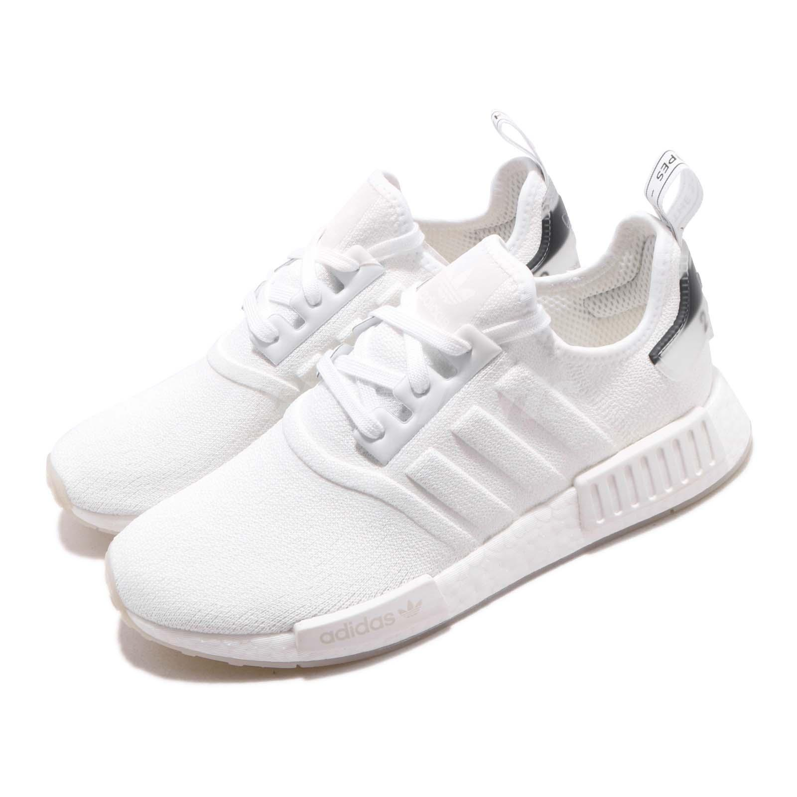 b060d14e4666a Details about adidas Originals NMD R1 Boost White Black Men Running Shoes  Sneakers BD7746