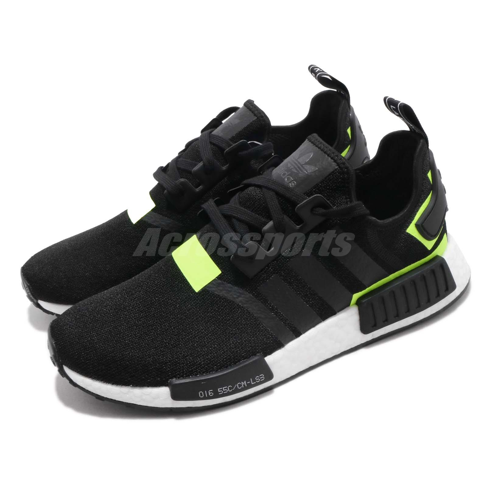 96109291e4243 Details about adidas Originals NMD R1 White Black Solar Men Running Shoes  Sneakers BD7751