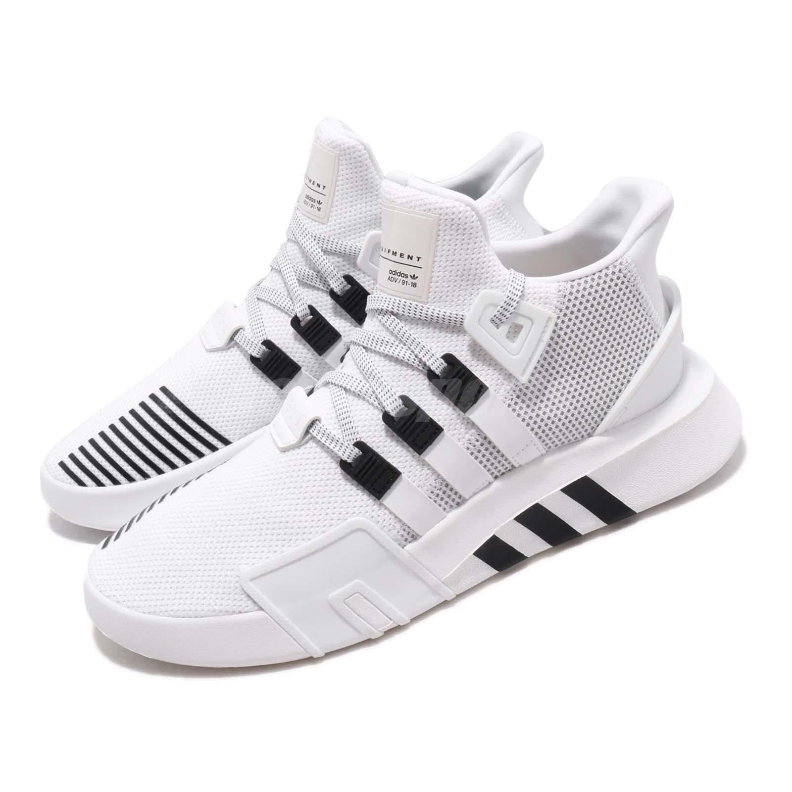 info for 4c97f a257e Details about adidas Originals EQT Bask ADV White Black Men Running Shoes  Sneakers BD7772