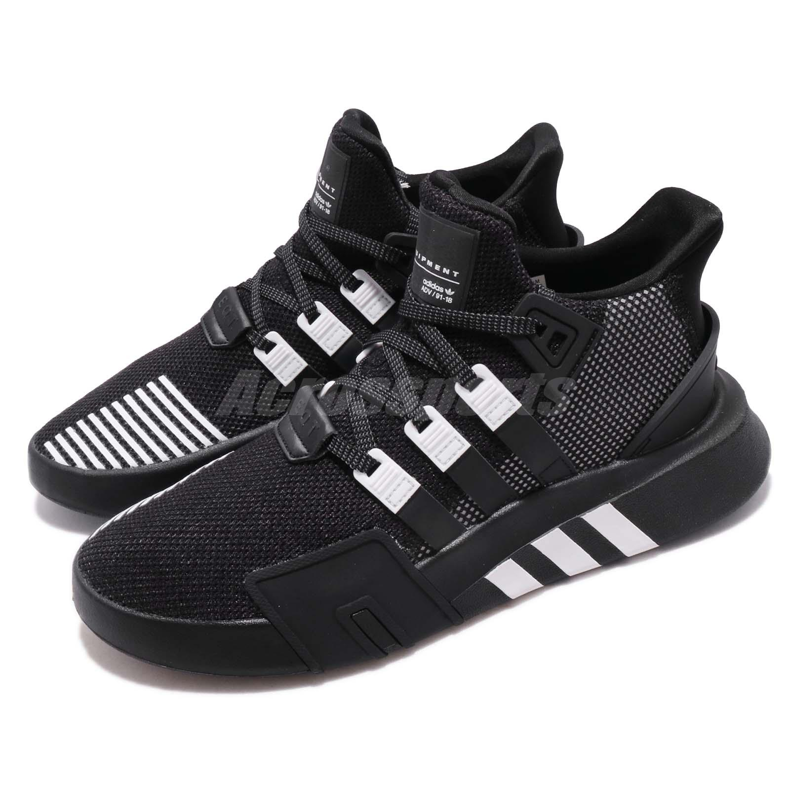 new arrival 4d806 703b6 Details about adidas Originals EQT Bask ADV Black White Men Running Casual  Shoe Sneaker BD7773