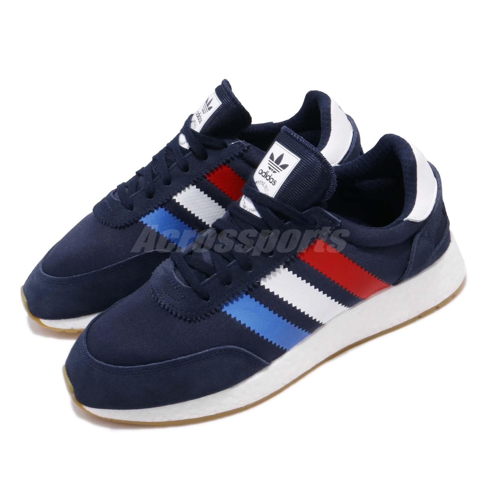 clearance prices on sale buy popular Details about adidas Originals I-5923 Navy Red White Blue BOOST Mens  Running Shoes BD7814