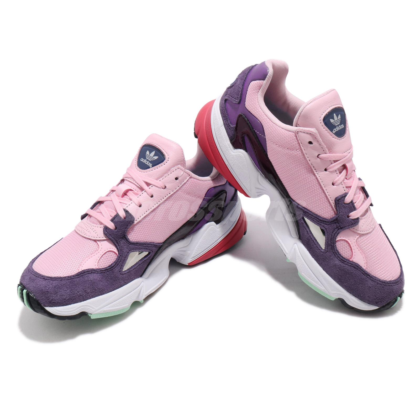 great deals uk store undefeated x Details about adidas Originals Falcon W Pink Purple White Red Women  Lifestyle Shoes BD7825