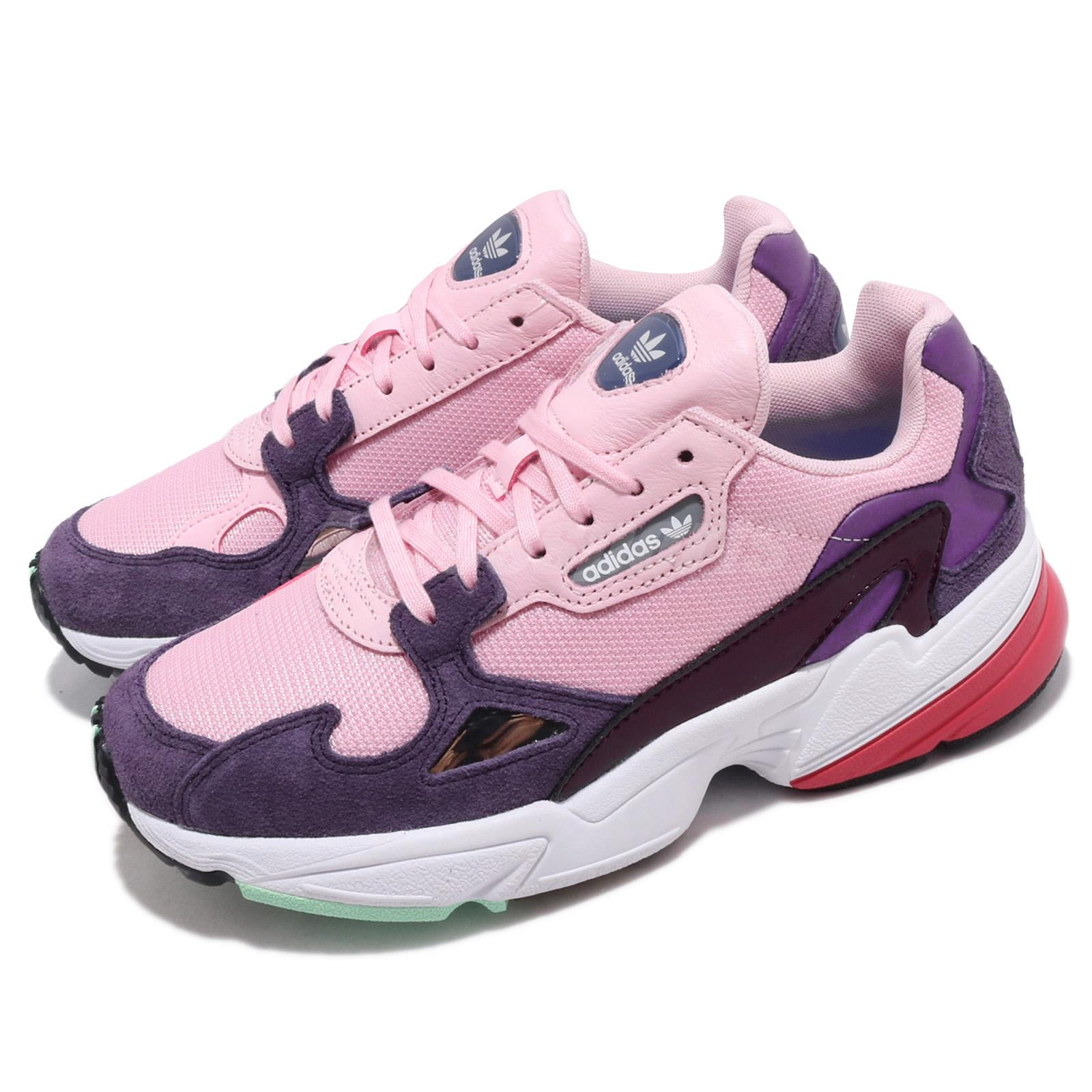 Details about adidas Originals Falcon W Pink Purple White Red Women  Lifestyle Shoes BD7825