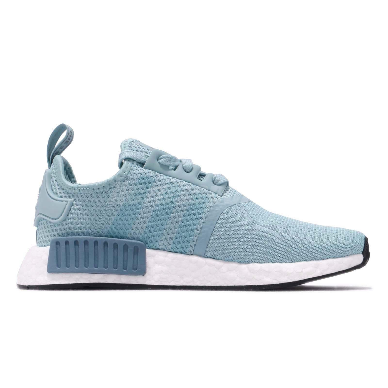 Détails sur adidas Originals NMD_R1 W Boost Blue White Women Running Shoes Sneakers BD8030