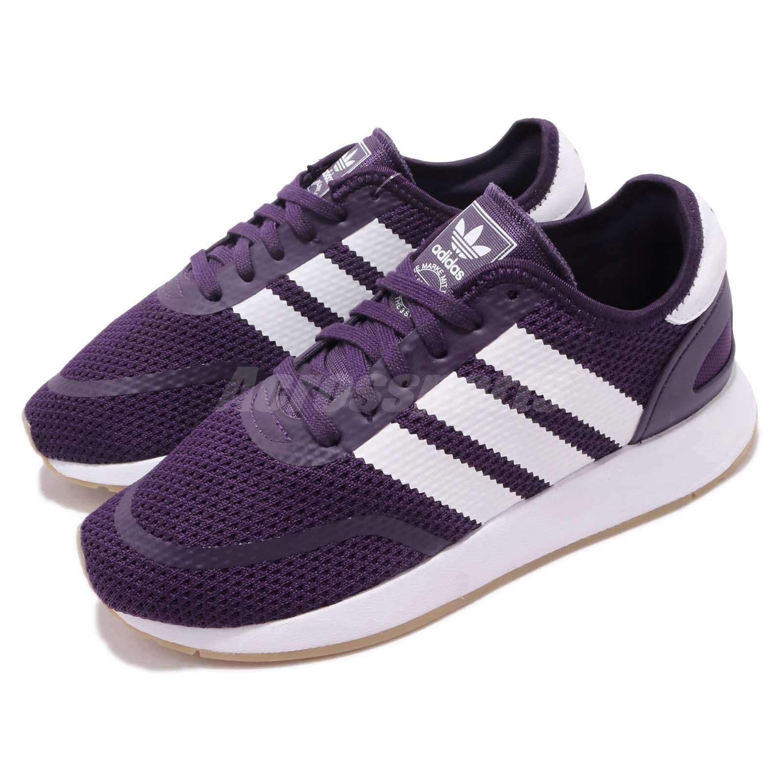 0d6fd431358 Details about adidas Originals N-5923 W Iniki Runner Purple Gum Women  Running Shoes BD8041
