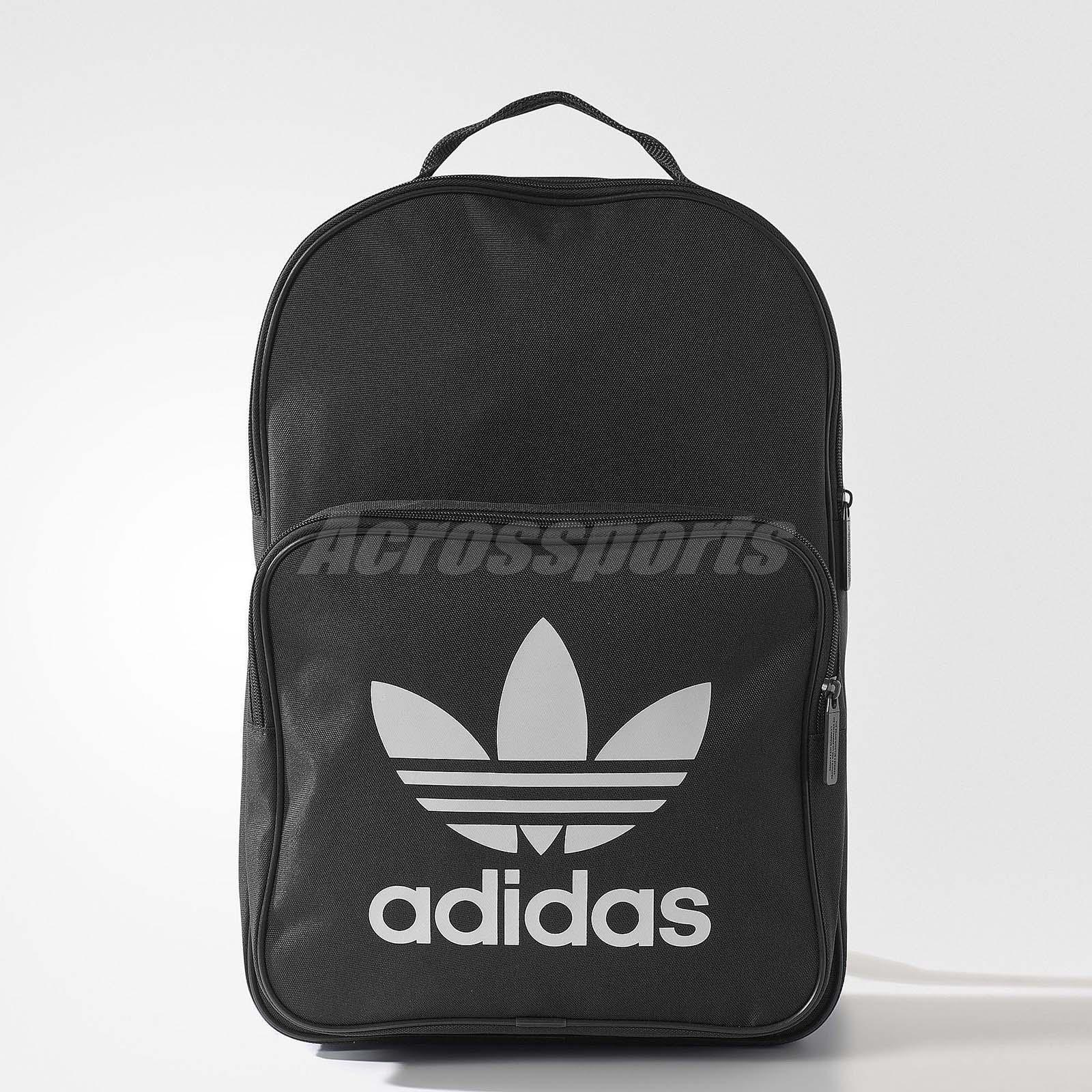 ed6590e2914 adidas Originals Trefoil Black White Lifestyle Classic Backpack BP BK6723