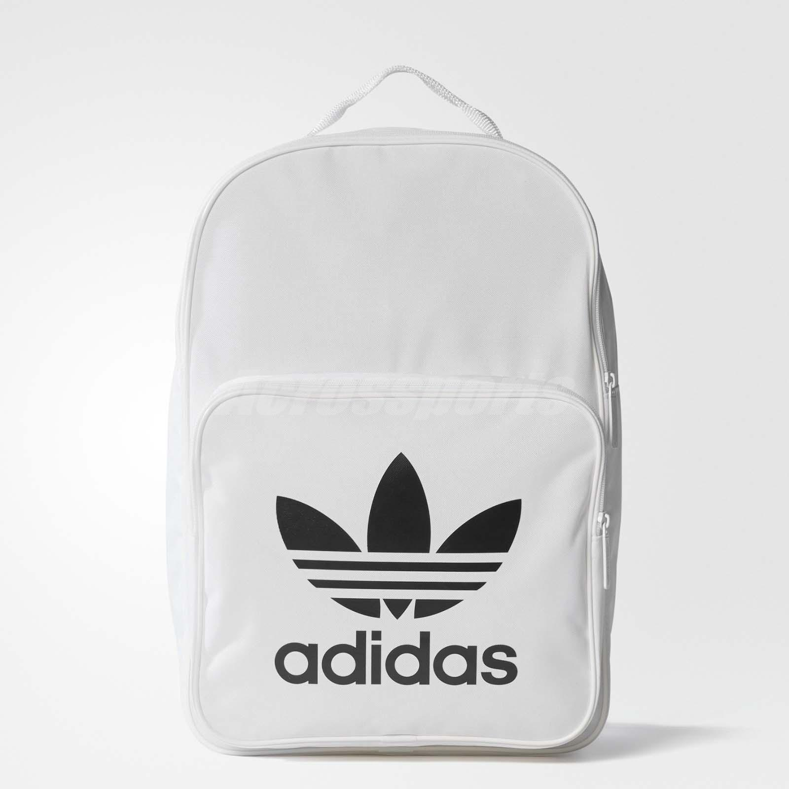 adidas backpack white